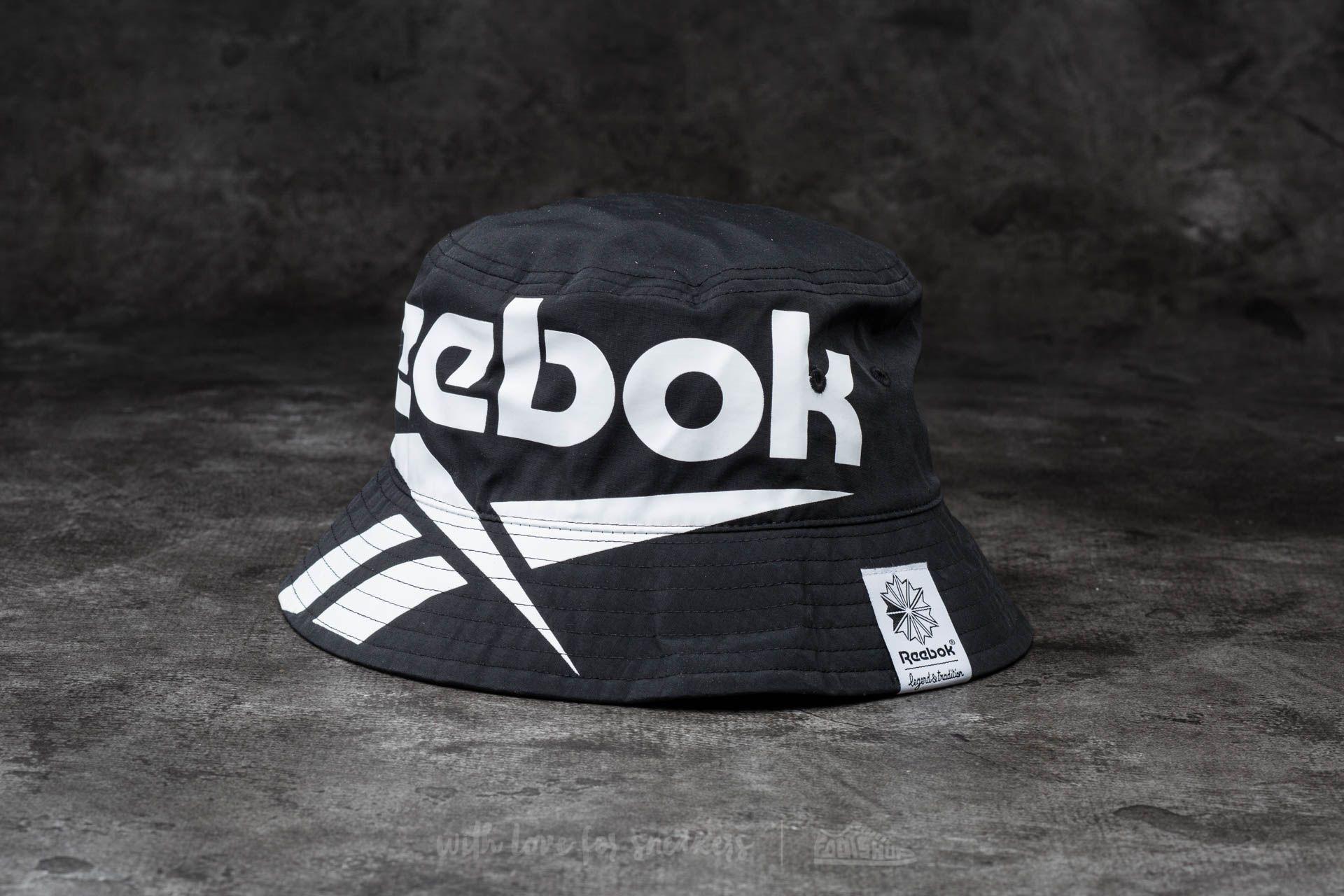 Reebok Classic Vector Bucket Hat Black  2cdb11c182f