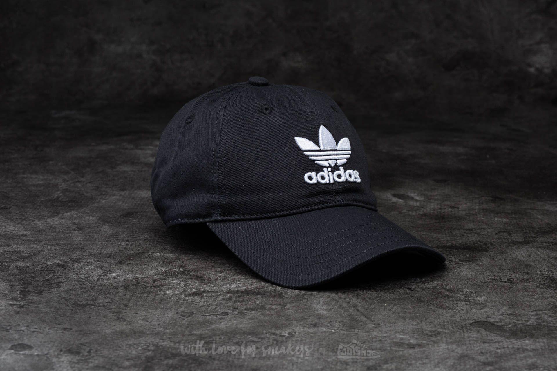 1565ace12b3 adidas Trefoil Cap Black