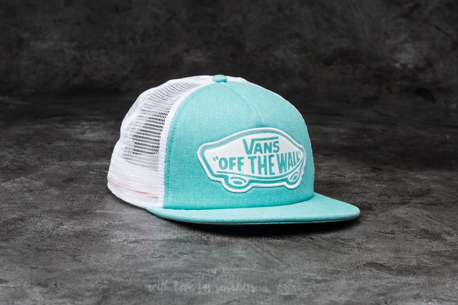 276e702bf678d4 Vans Beach Girl Trucker Pool Blue