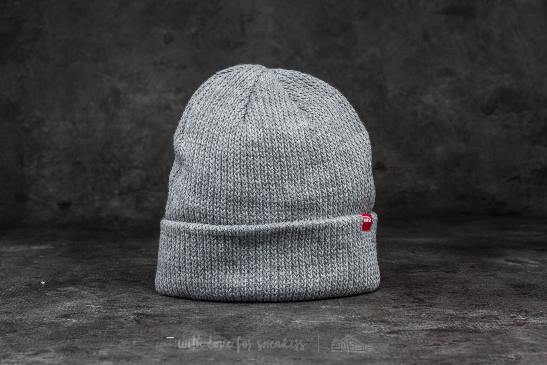 5349ea9bf5e82 Vans Core Basics Beanie Heather Grey