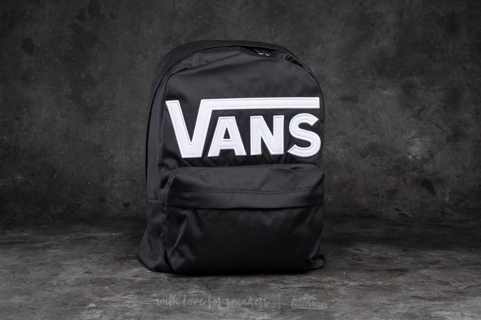 Vans Old Skool II Backpack Black-White  75d71a9ba3