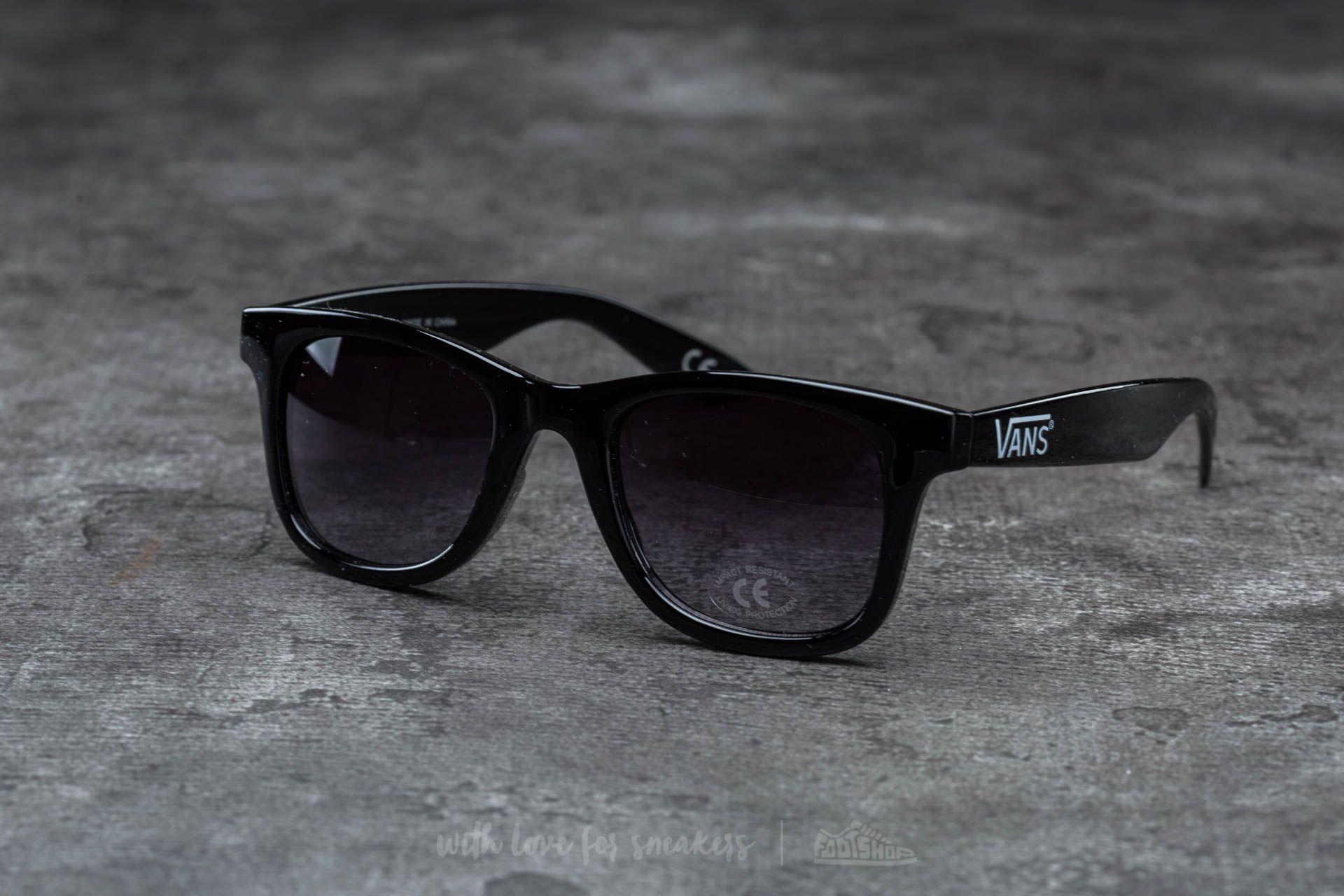 Vans Janelle Hipster Sunglasses Black-Smoke  47fd5e6653a