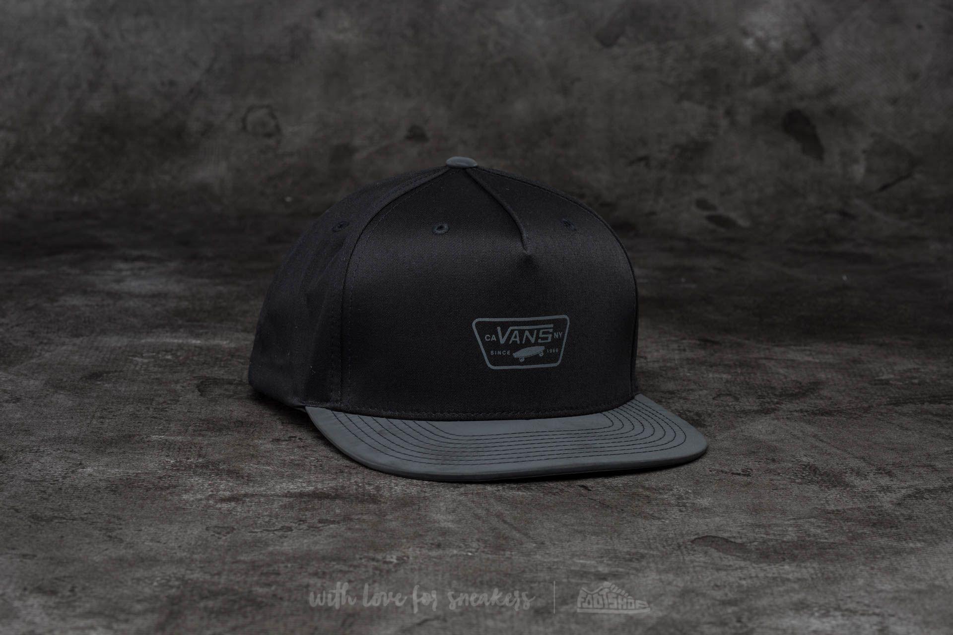 5012980062 Vans Reflect Snapback Black