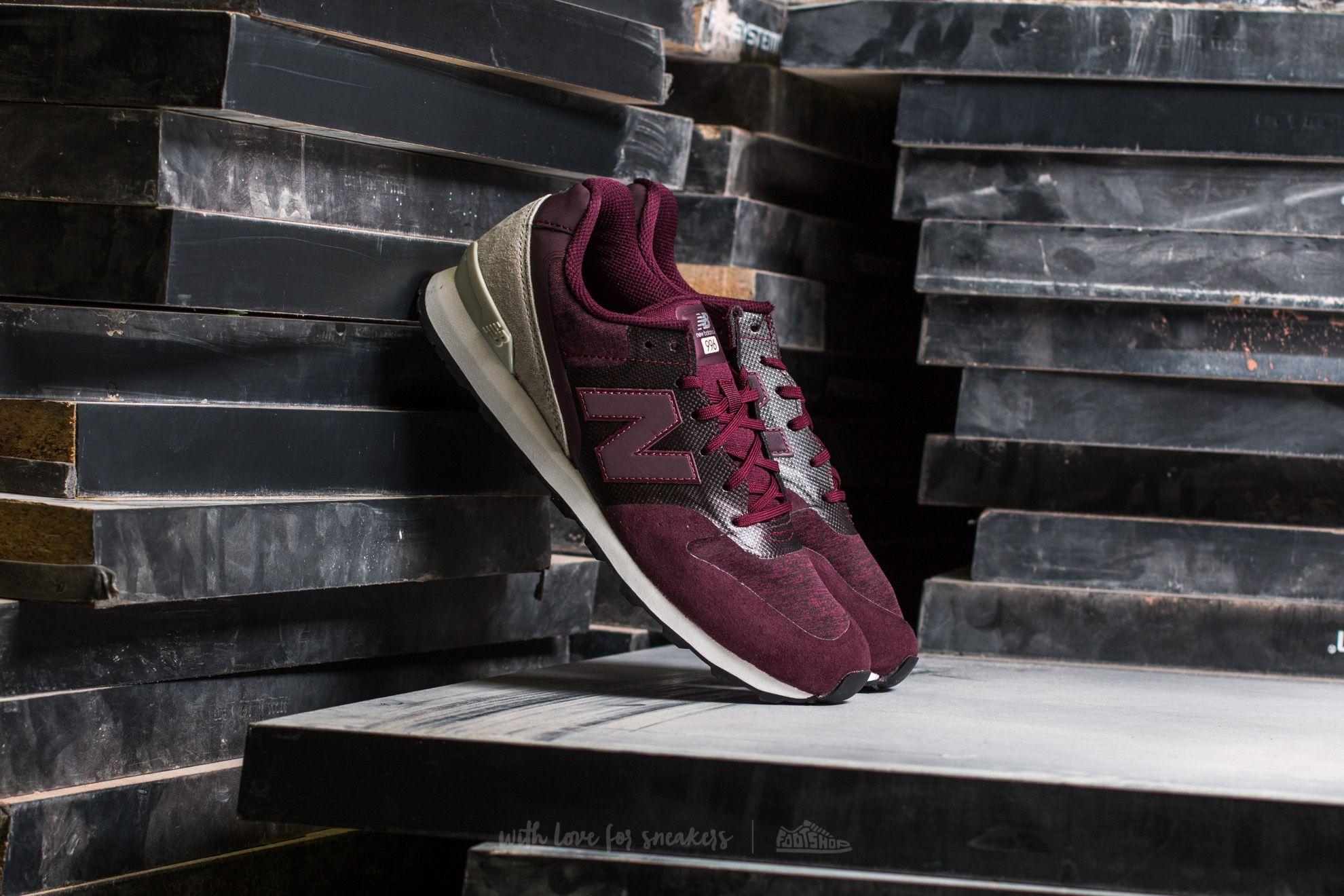 Ženski čevlji New Balance 996 Burgundy