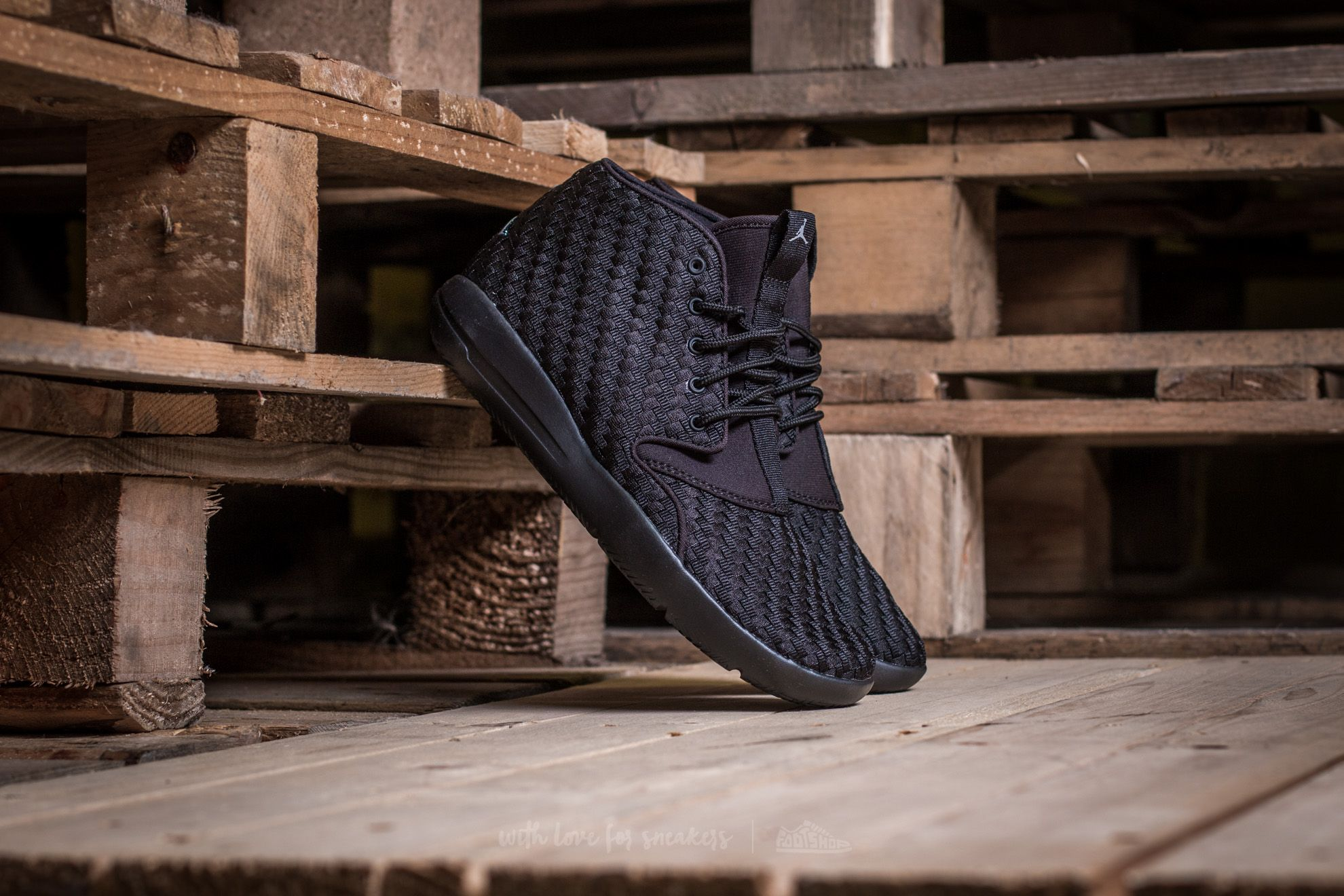 c12fa823bde Jordan Eclipse Chukka Woven BG Black  Cool Grey