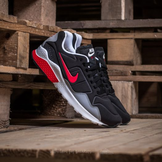 Nike Air Zoom Pegasus 92 Black Atom Red Wolf Grey