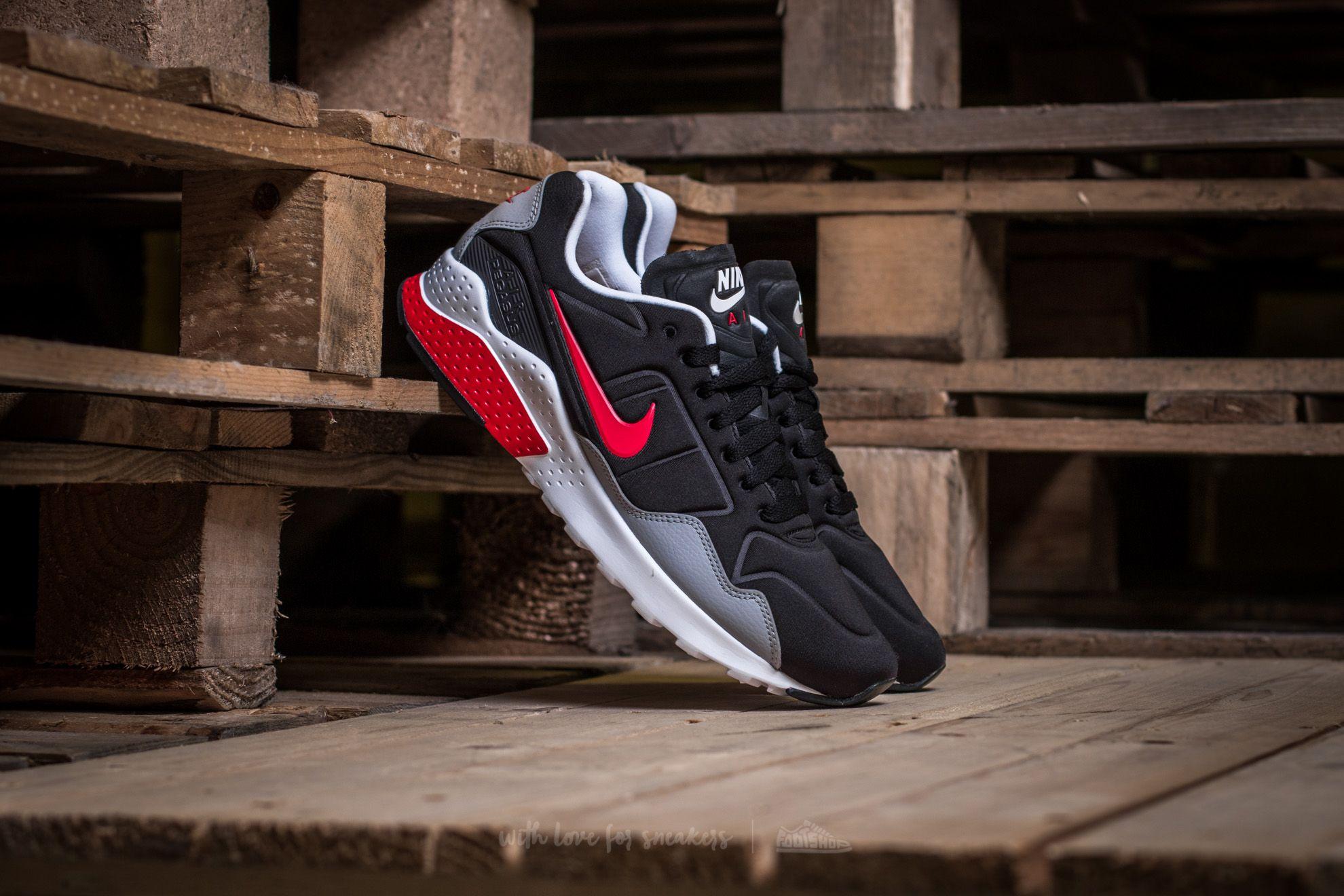 255df75c525 Nike Air Zoom Pegasus 92 Black  Atom Red-Wolf Grey