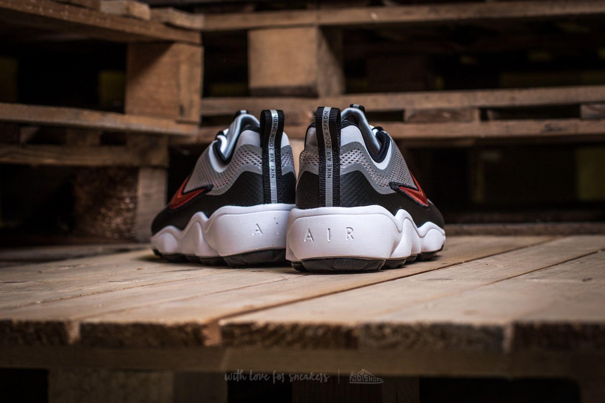 Silver Zoom Desert RedFootshop Nike Spiridon Metallic FJcTlK1