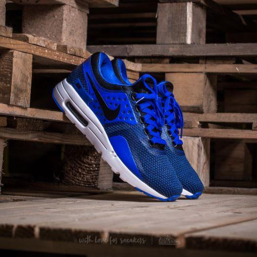 Nike Air Max Zero Essential Black/ Black-Paramount Blue   Footshop