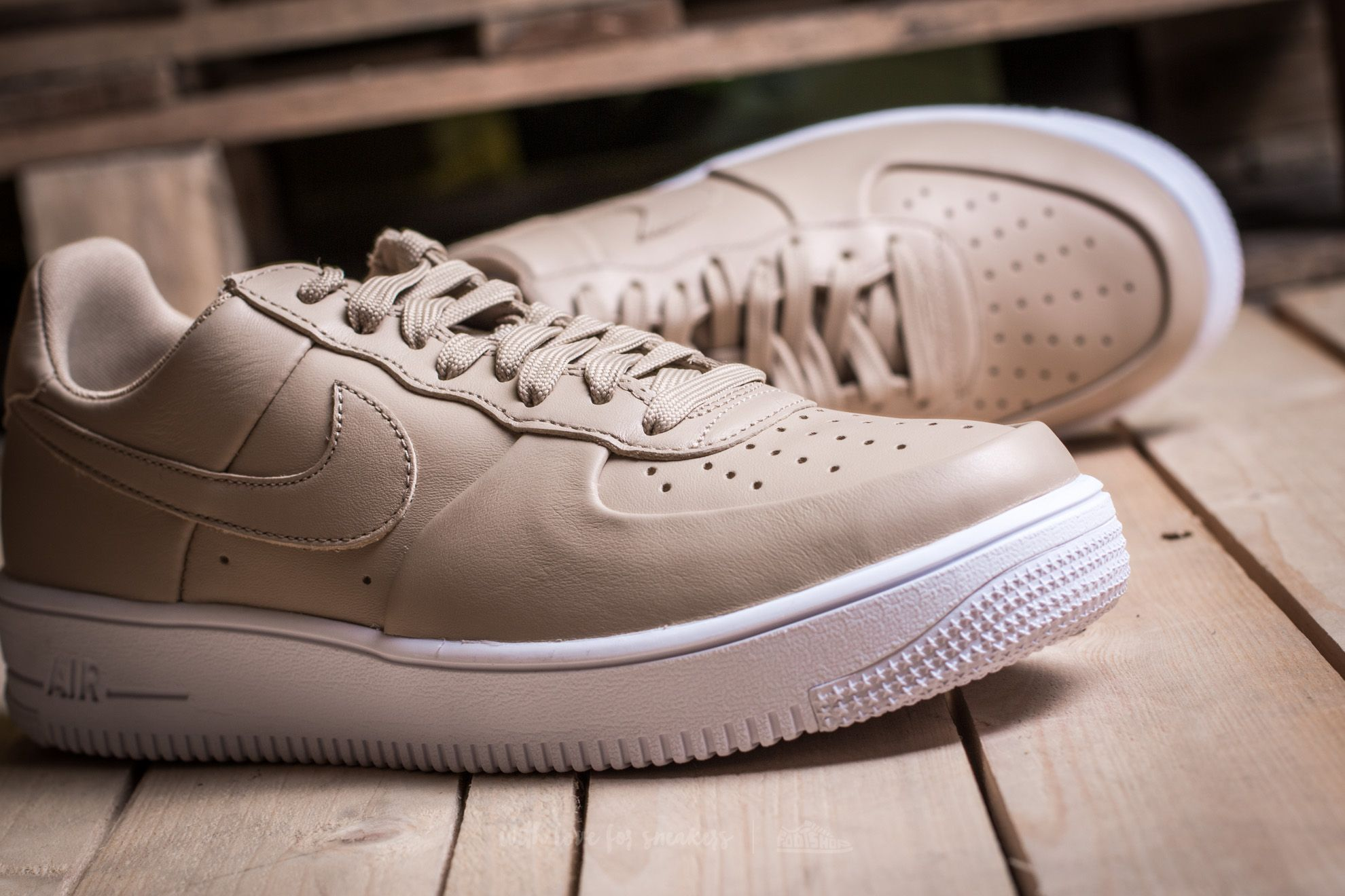 NIKE Air Force 1 Ultraforce Leather, LinenLinenWhite