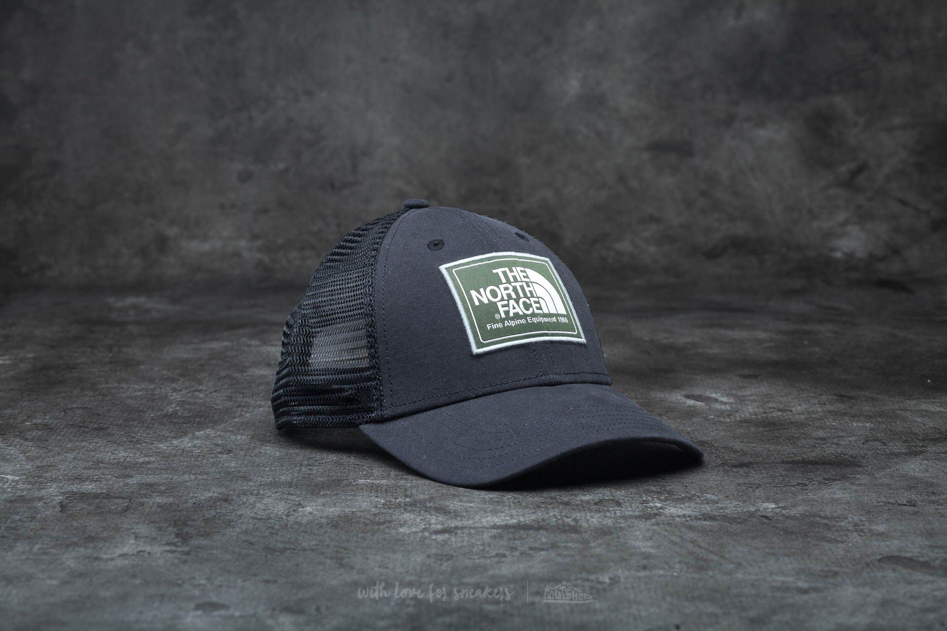 a503e2906ed1d0 The North Face Muder Trucker Hat Tnf Black/ Thyme | Footshop