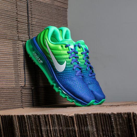 Nike Air Max 2017 Men's Running Shoe Paramount BlueWhite