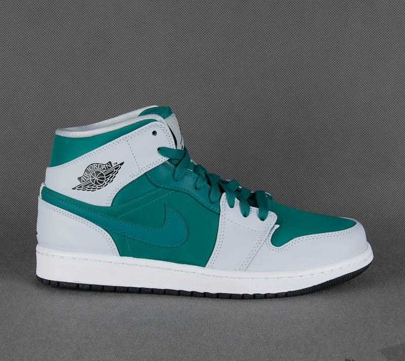 Air Jordan 1 Mid Lush Teal/Black