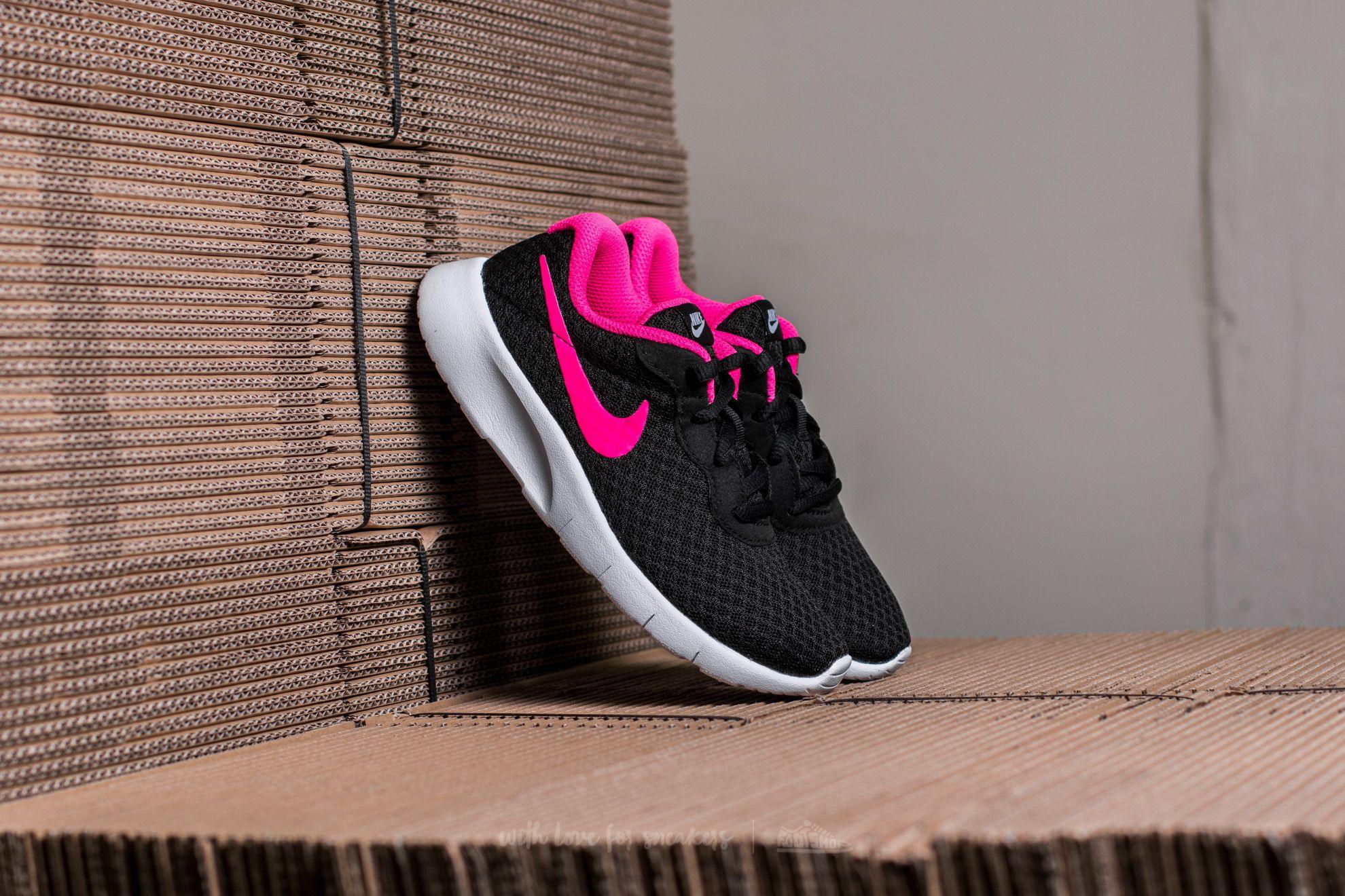 Nike Tanjun (PS) Black/ Hyper Pink-White