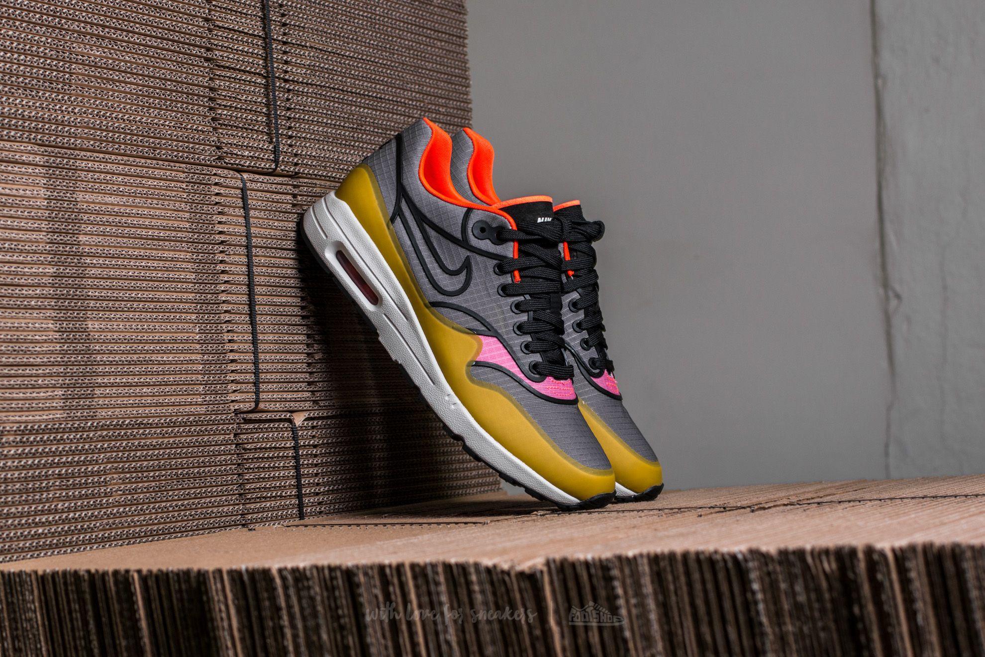 c67288f5a0 Nike W Air Max 1 Ultra 2.0 SI Cool Grey/ Black-Light Bone | Footshop