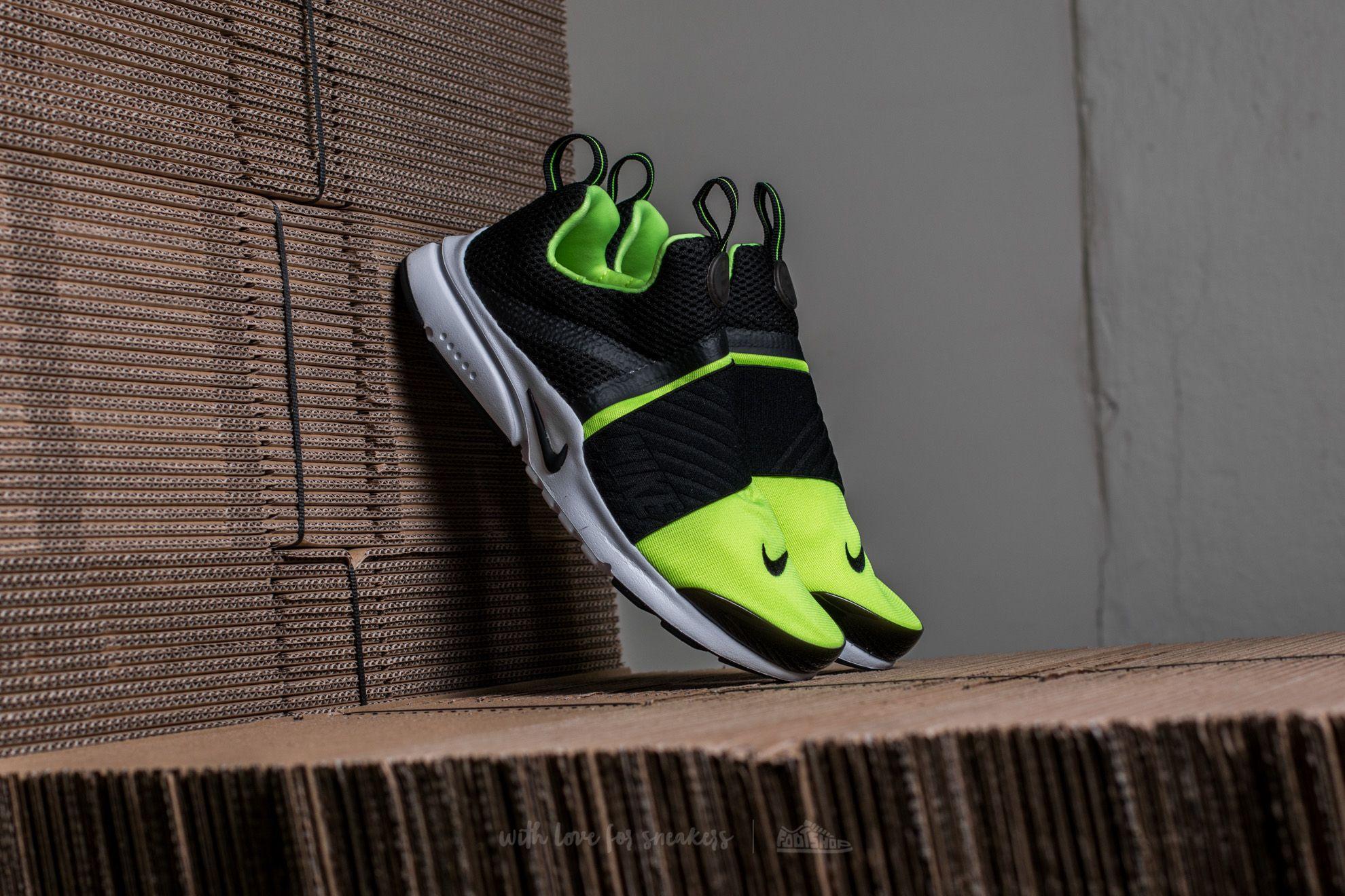 Monasterio Cerebro Suposiciones, suposiciones. Adivinar  Women's shoes Nike Presto Extreme (GS) Volt/ Black-White