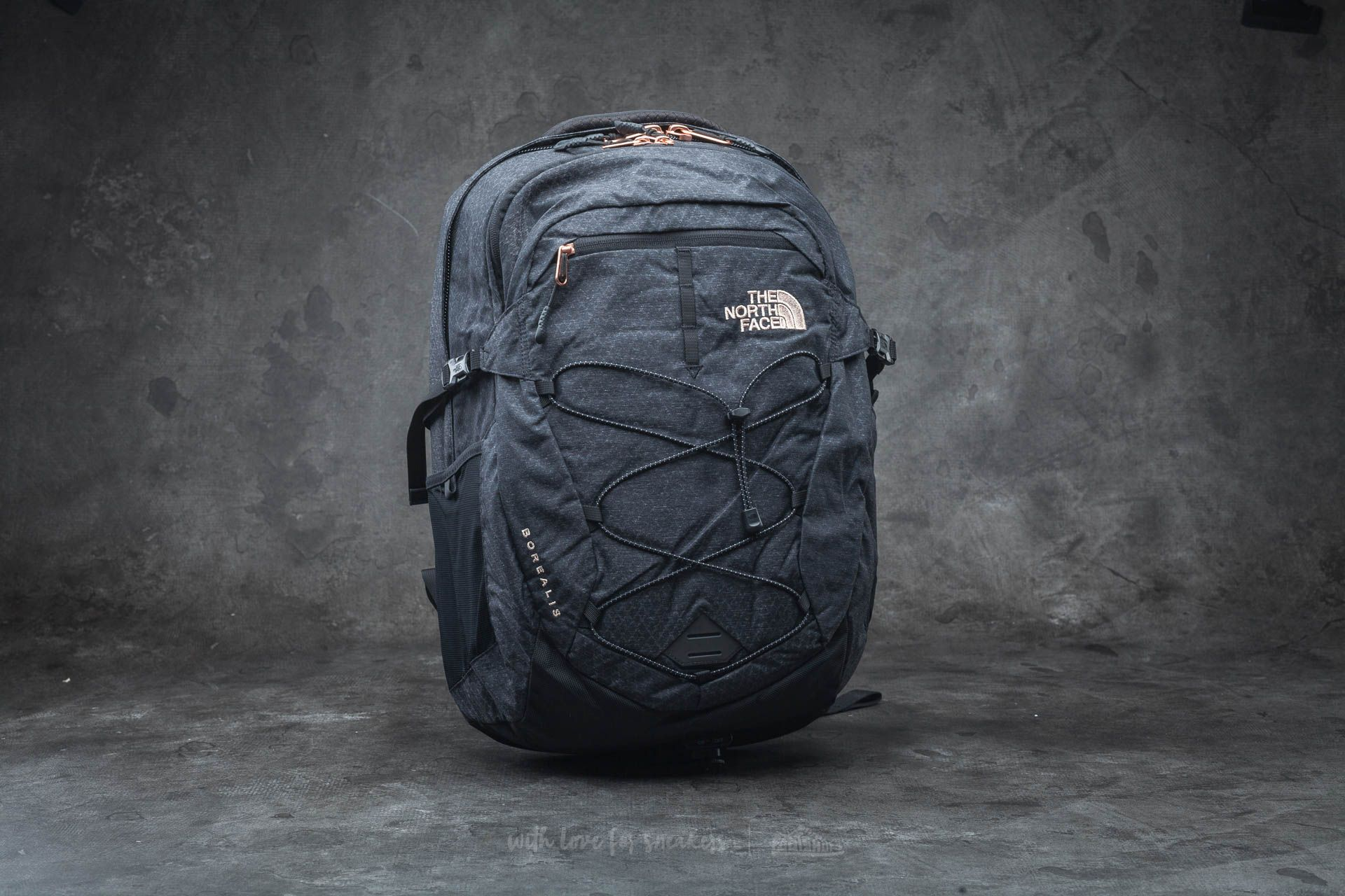 The North Face W Borealis Backpack Tnf Black/ Rose Gold