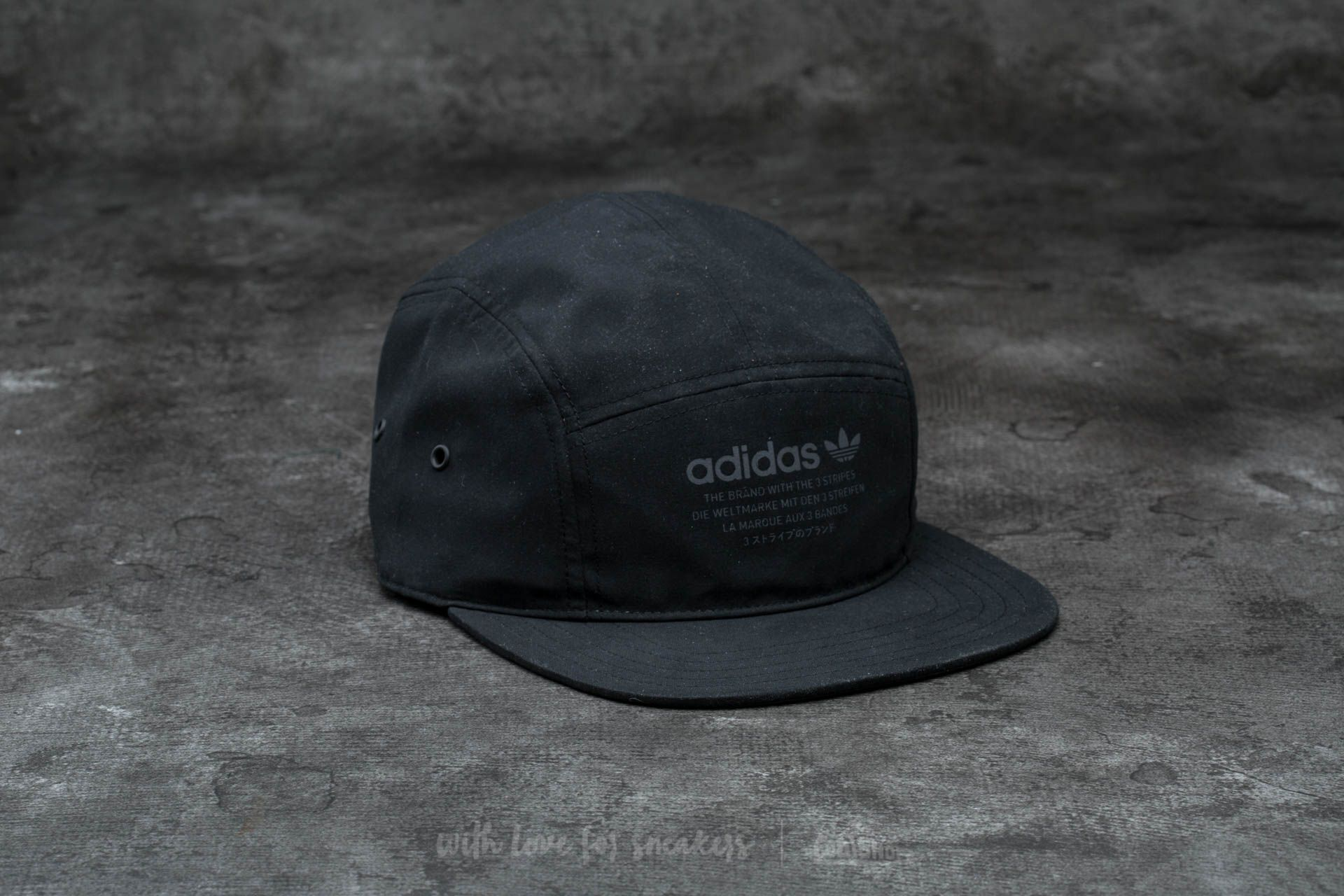 baf73631574 adidas NMD 5 Panel Cap Black
