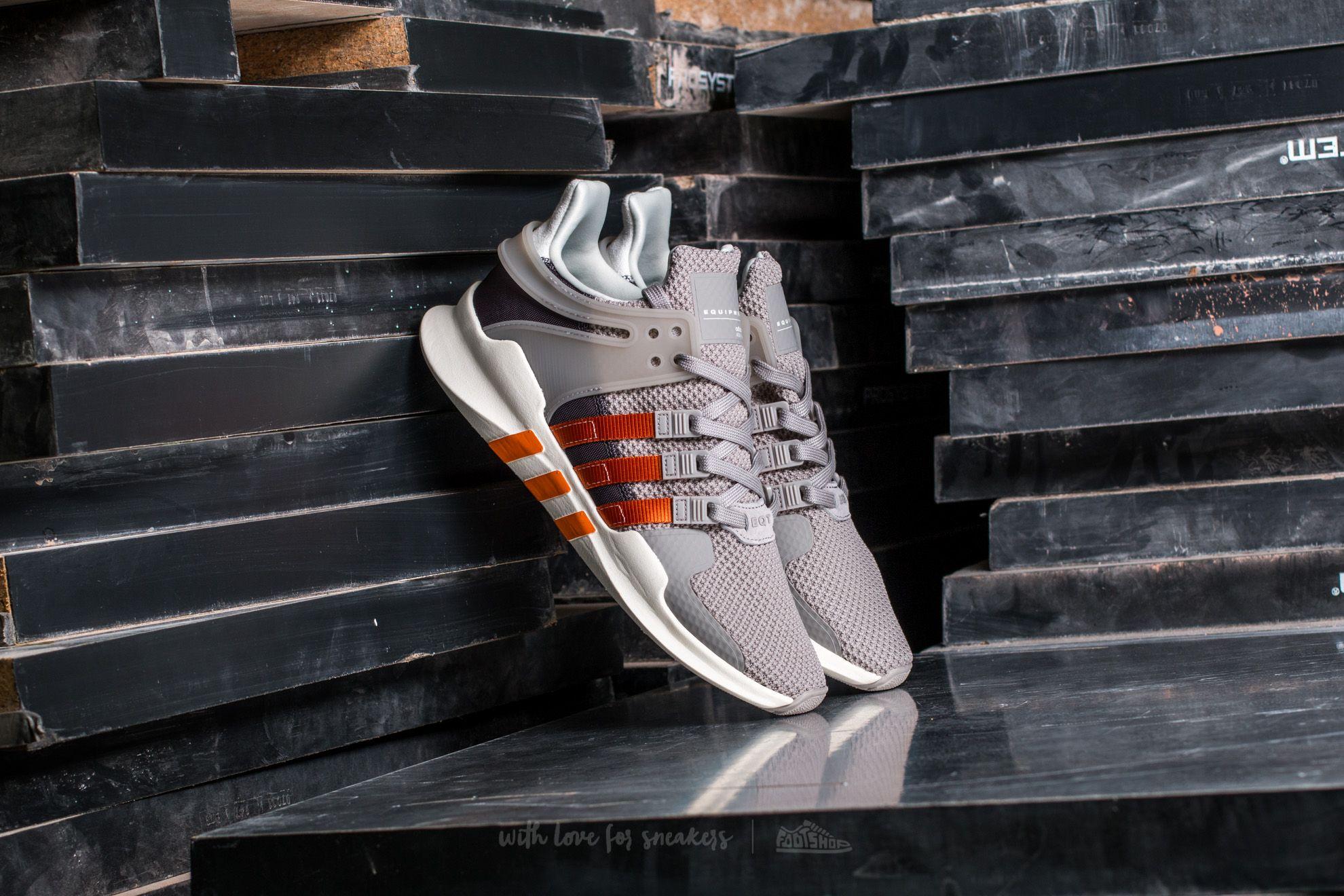 adidas Equipment Support ADV W Core Granite/ Tactile Orange/ Granite   Footshop