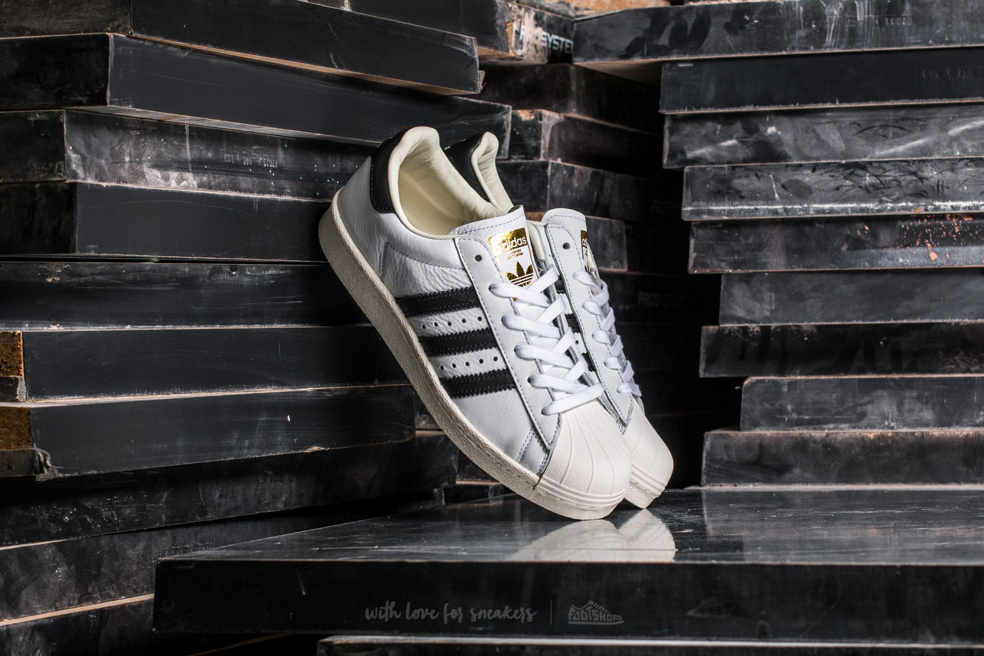 d954f2500 adidas Superstar BOOST Ftw White  Core Black  Gold Metallic ...