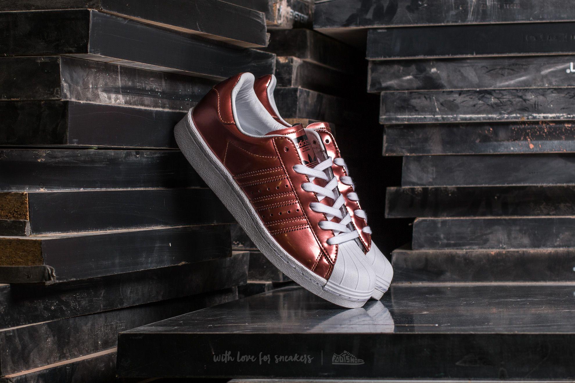 Dámské tenisky a boty adidas Superstar BOOST W Copper Metallic/ Copper Metallic/ Ftw White