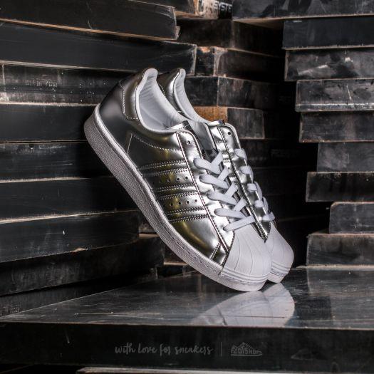 adidas Superstar Boost W Silver Metallic White