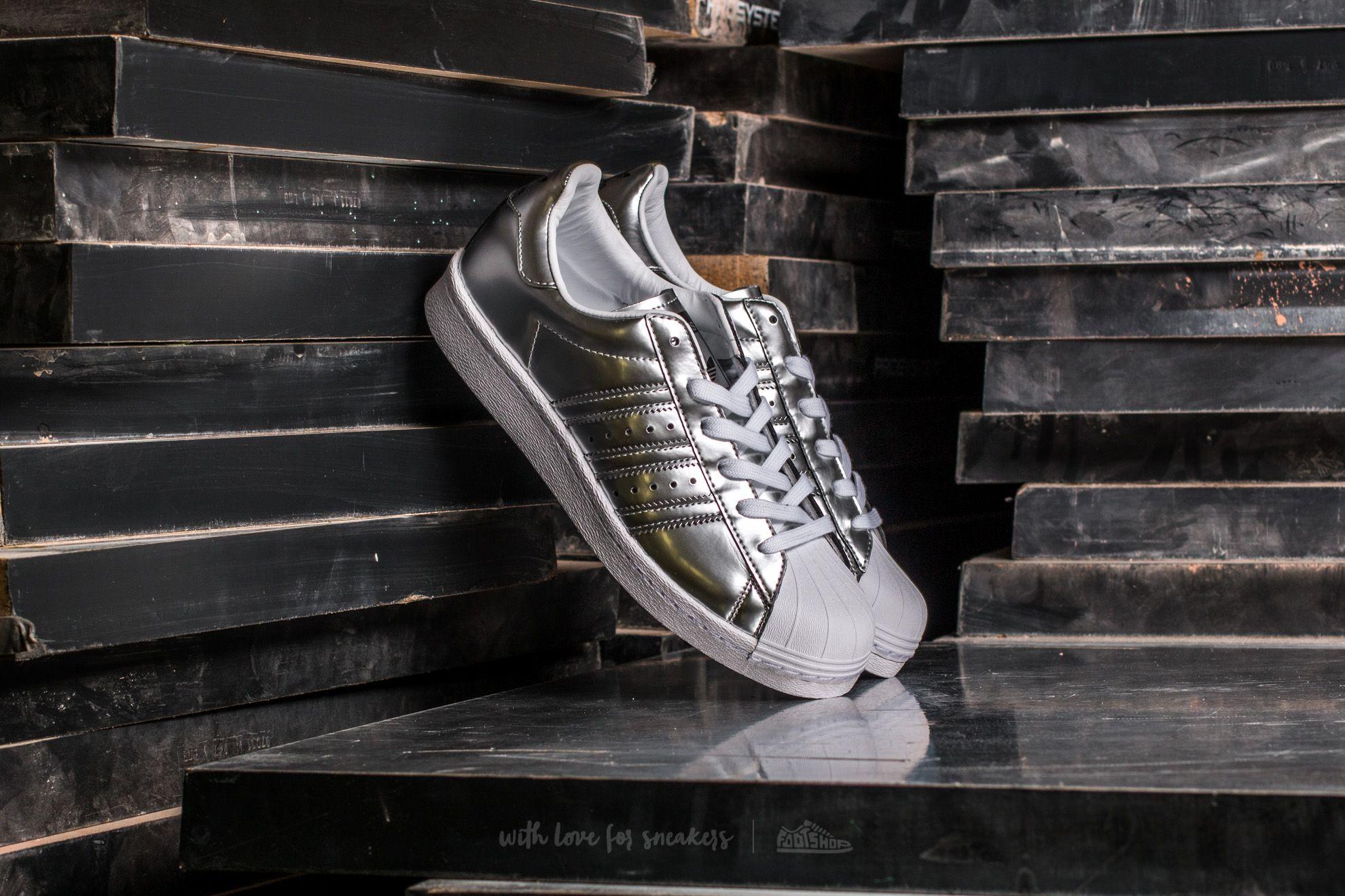 brand new 0de86 f11f3 adidas Superstar BOOST W Silver Silver Metallic/ Silver Metallic ...