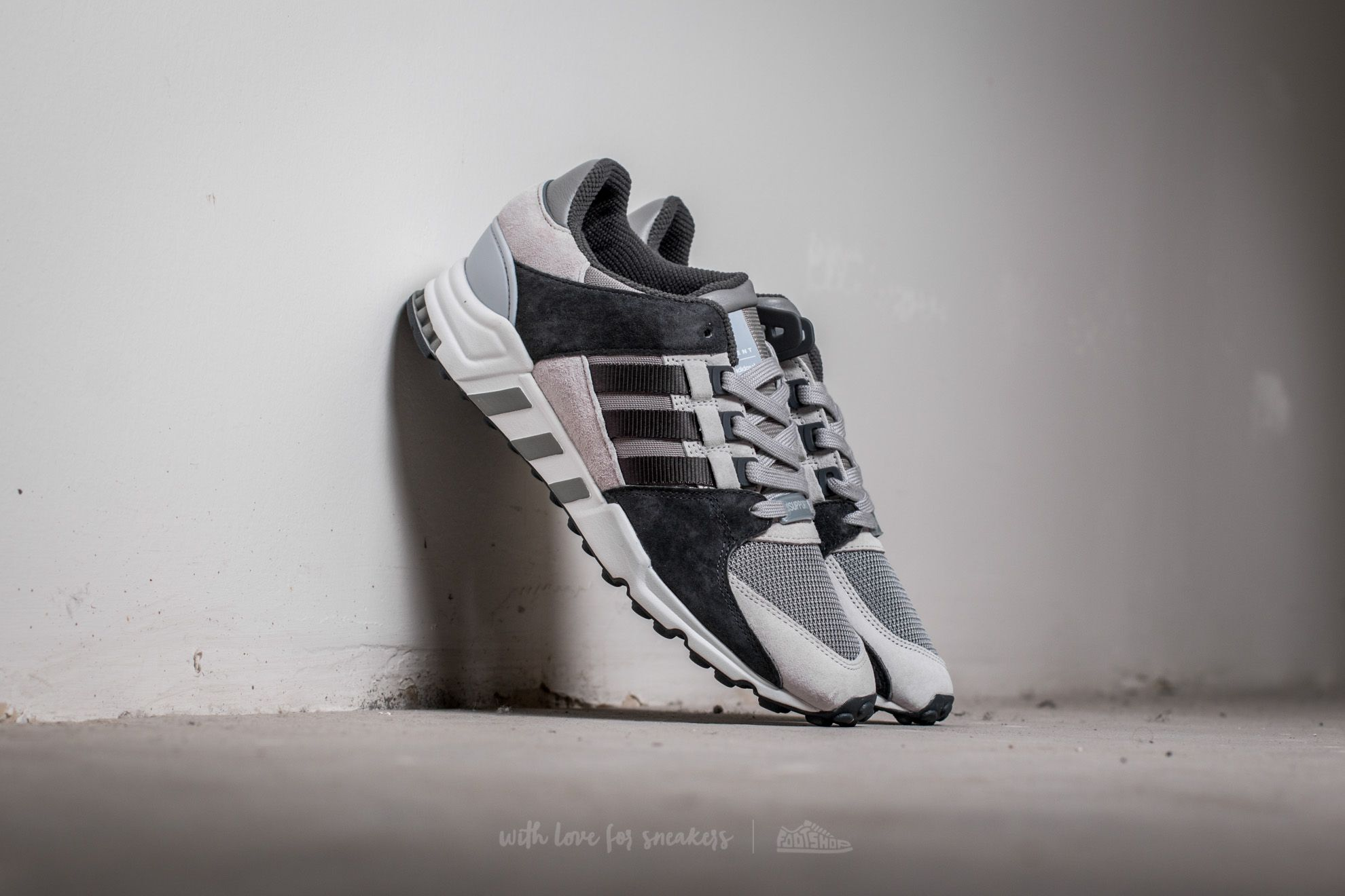 adidas Equipment Support RF Charcoal Solid Grey Dg Solid Grey Light Solid Grey | Footshop