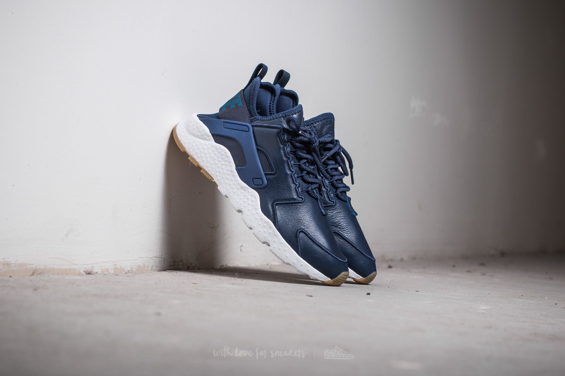 4f370cbce032 Nike Wmns Air Huarache Run Ultra SI Binary Blue  Binary Blue-White ...