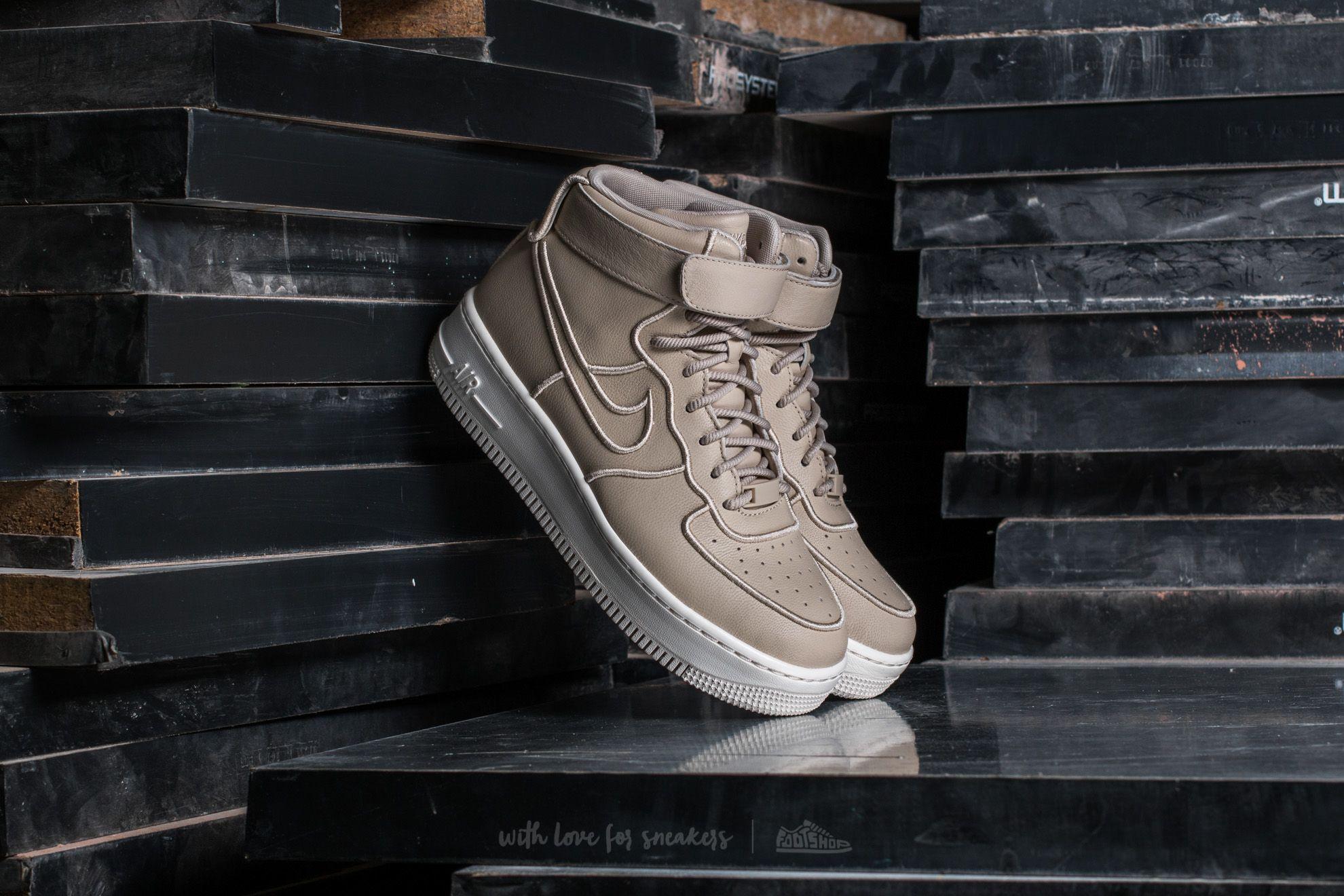 5390522e20c Nike Wmns Air Force 1 Upstep Hi SI Oatmeal  Oatmeal-Ivory