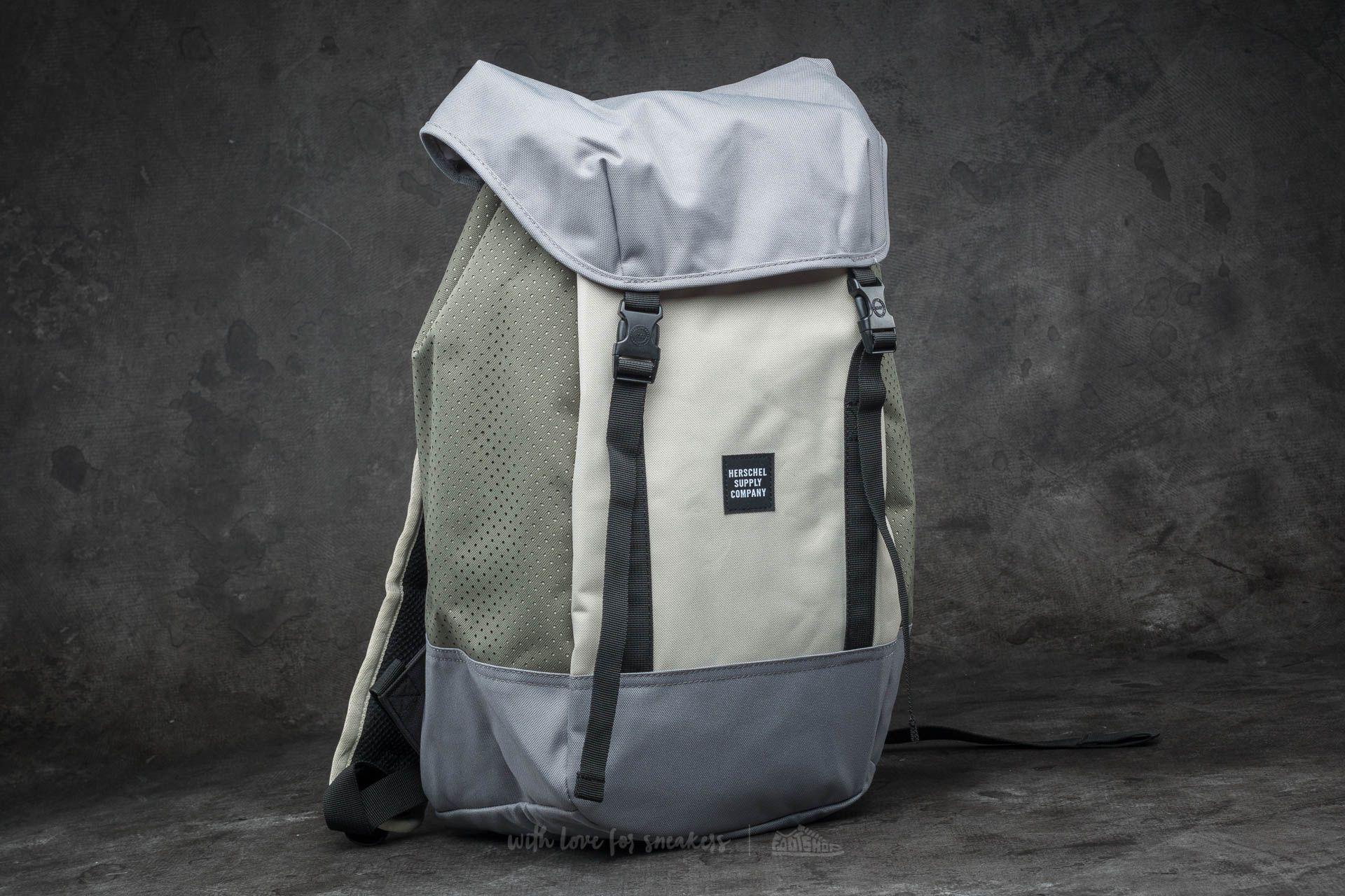 52a82fe63a8 Herschel Supply Co. Iona Backpack Pelican  Deep Lichen Green ...