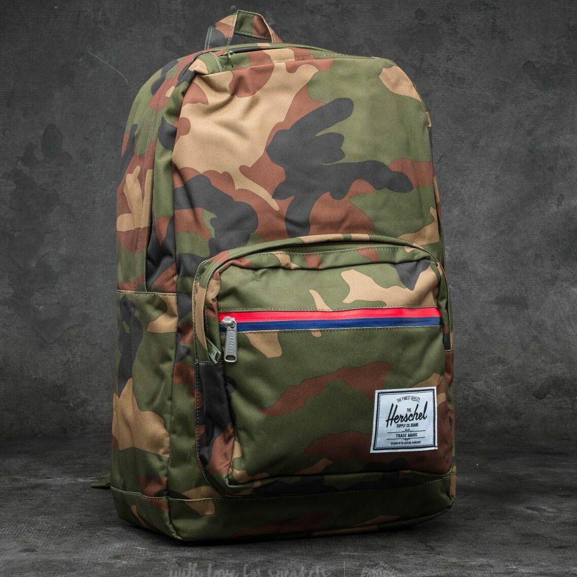 Herschel Supply Co. Pop Quiz Backpack Woodland Camo/ Multi Zip 22 l
