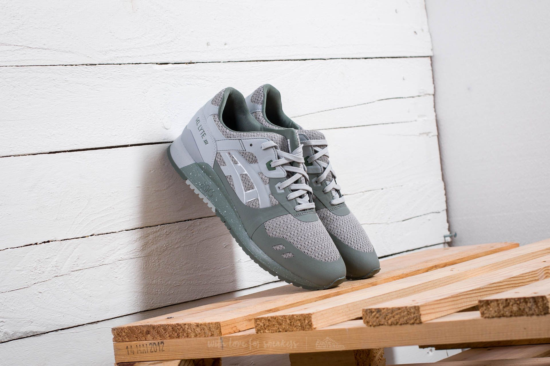 f074354754be Asics Gel-Lyte III NS Agave Green  Midgrey