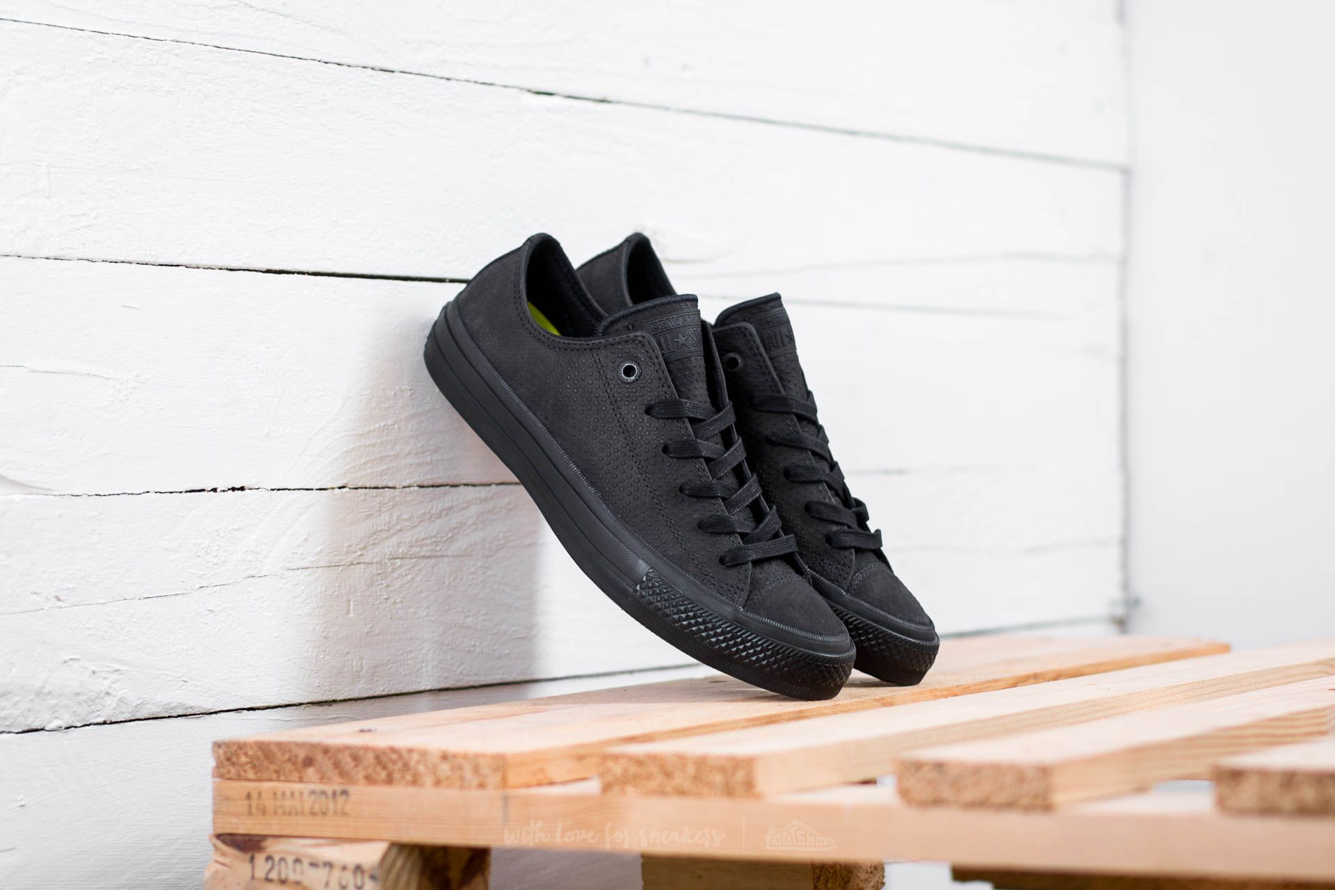 Converse Chuck Taylor AS II OX Black/ Black/ Gum