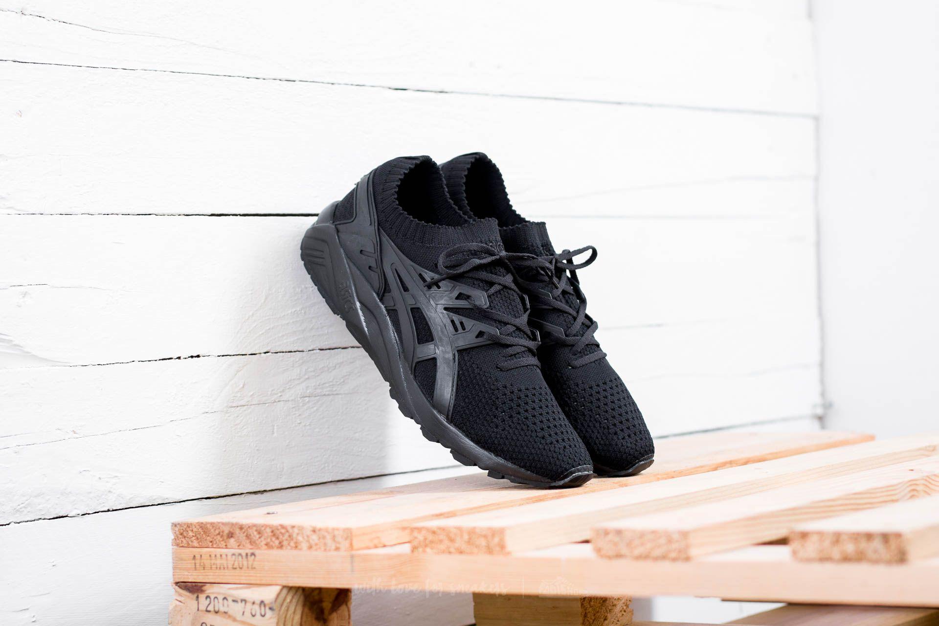 Asics Gel-Kayano Trainer Knit Black/ Black