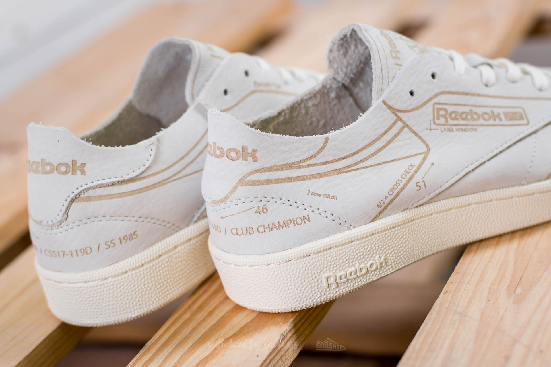 shoes Reebok Club C 85 HMG Classic