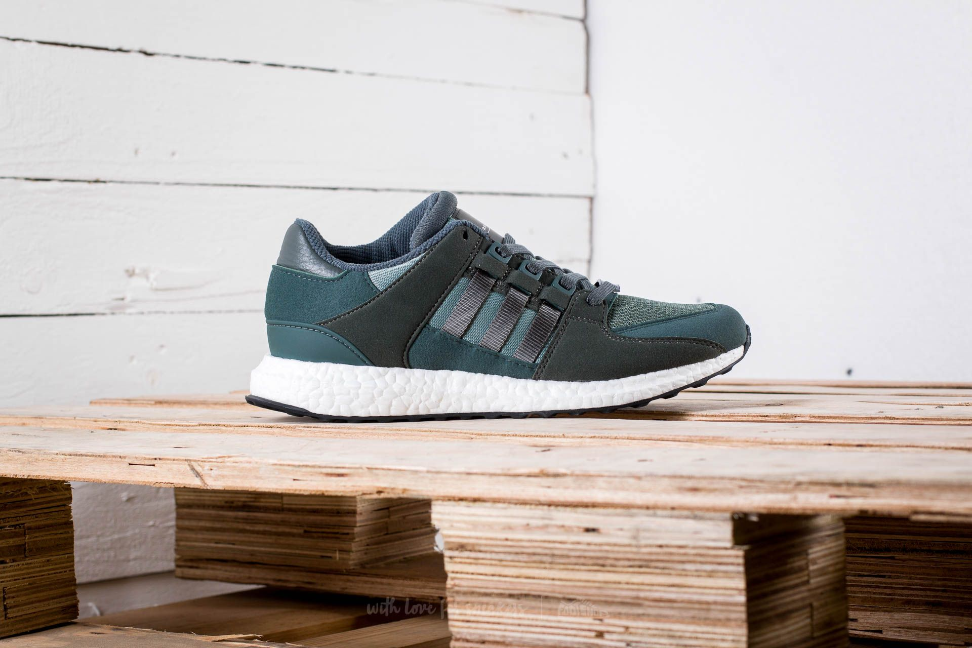 official photos 1be51 bb093 adidas Equipment Support Ultra Trace Green/Utility Ivy ...