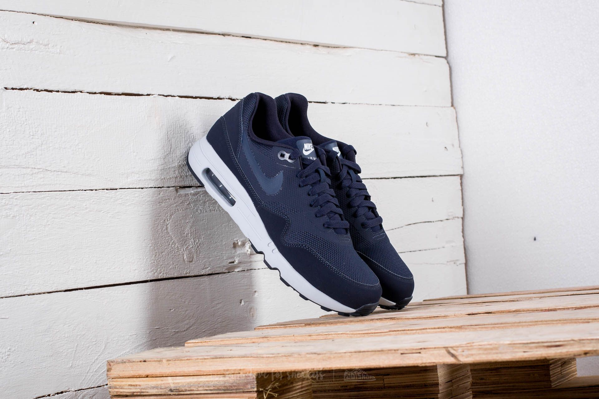 5feb4ad06a8fb Nike Air Max 1 Ultra 2.0 Essential Obsidian  Obsidian