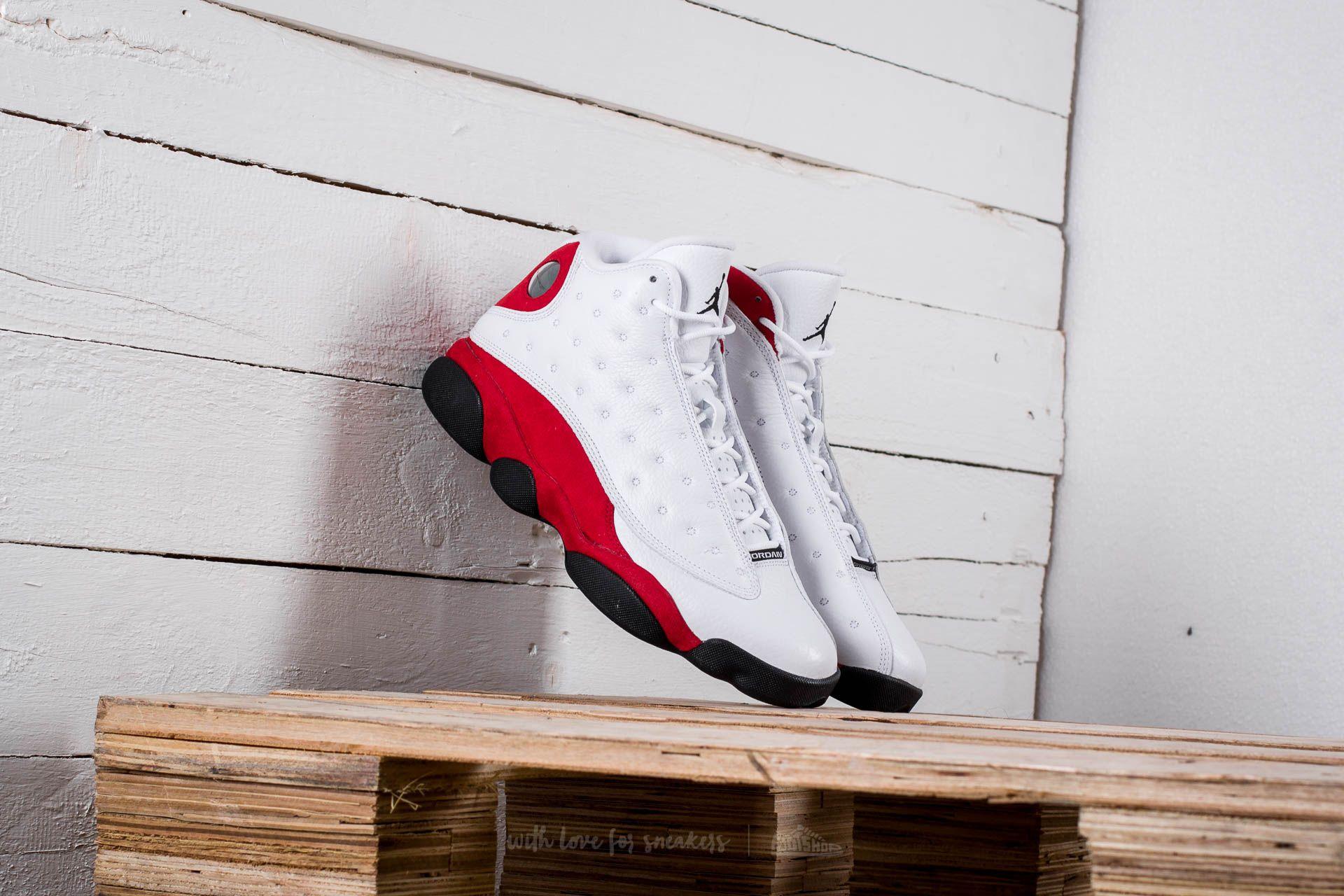 Air Jordan 13 Retro White  Black-Team Red  c6106f3ee