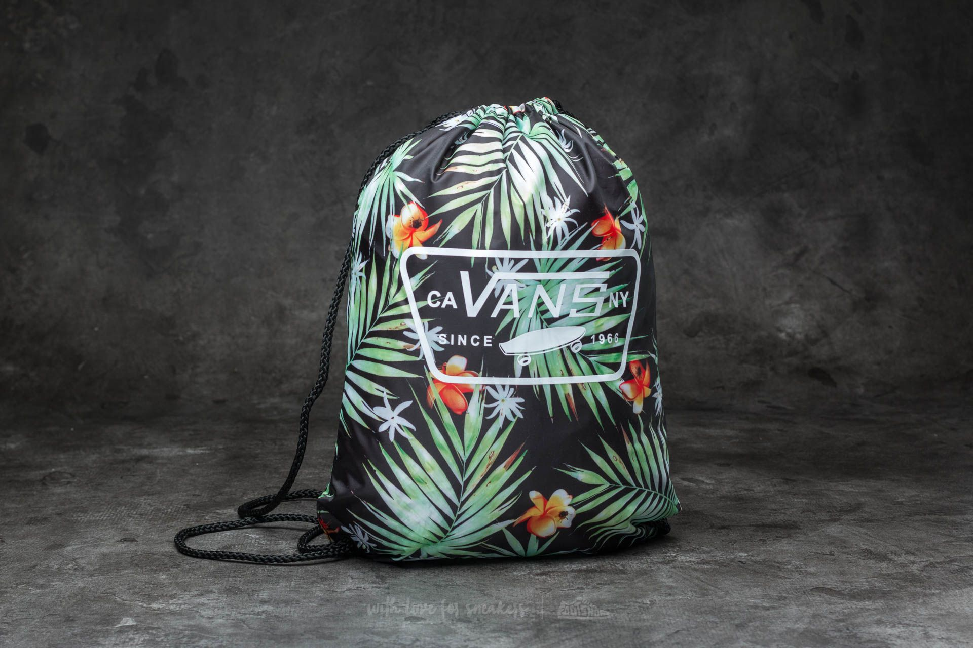 Vans League Bench Bag Black Decay Palm  e9eebfe77d0