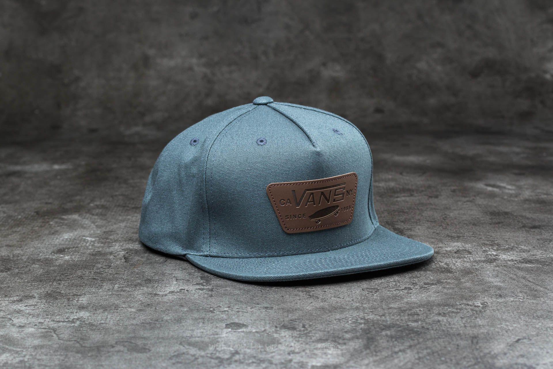Vans Full Patch Starter Hat Dark Slate  ad5a704ab9e