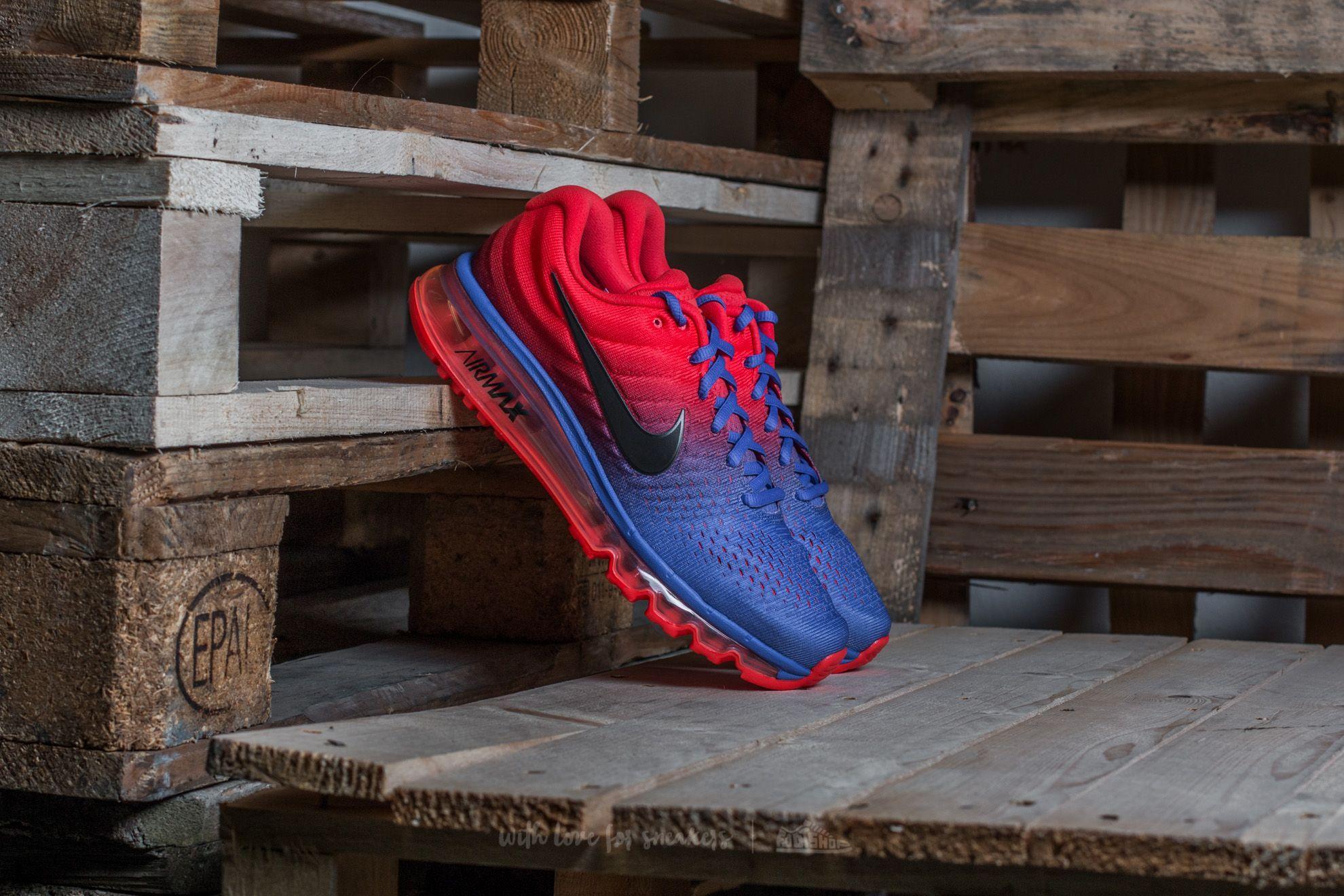 various colors 99bb4 1363c Nike Air Max 2017 Paramount Blue/ Black   Footshop