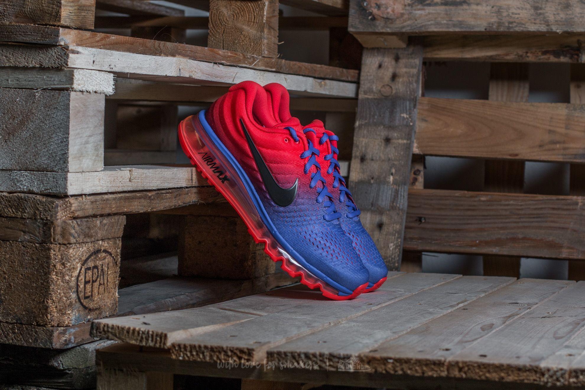 1dc86662ec914e Nike Air Max 2017 Paramount Blue  Black