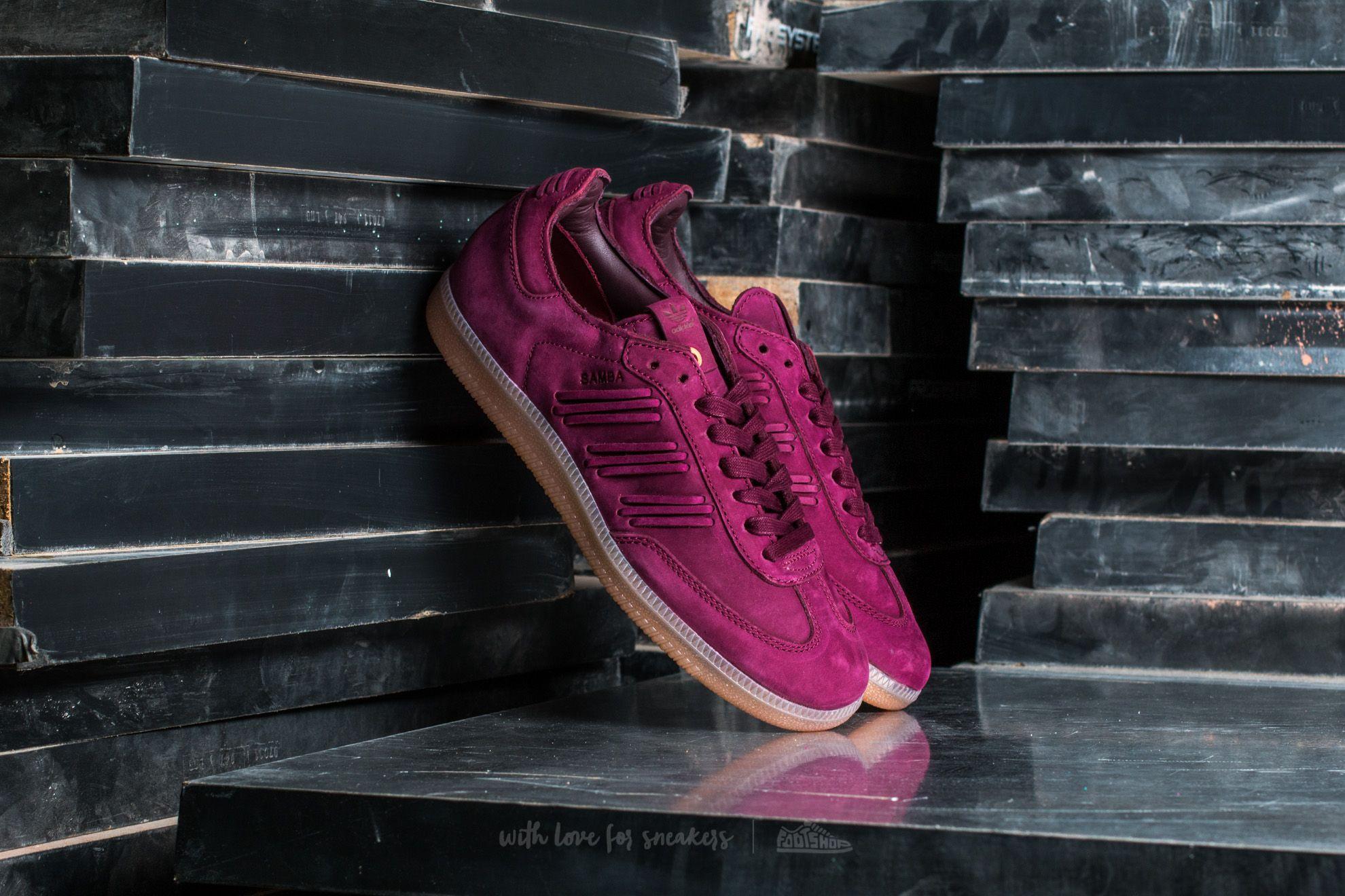 adidas Consortium Samba W x Maroon/ Maroon/ Cburgundy za skvělou cenu 2 305 Kč koupíte na Footshop.cz