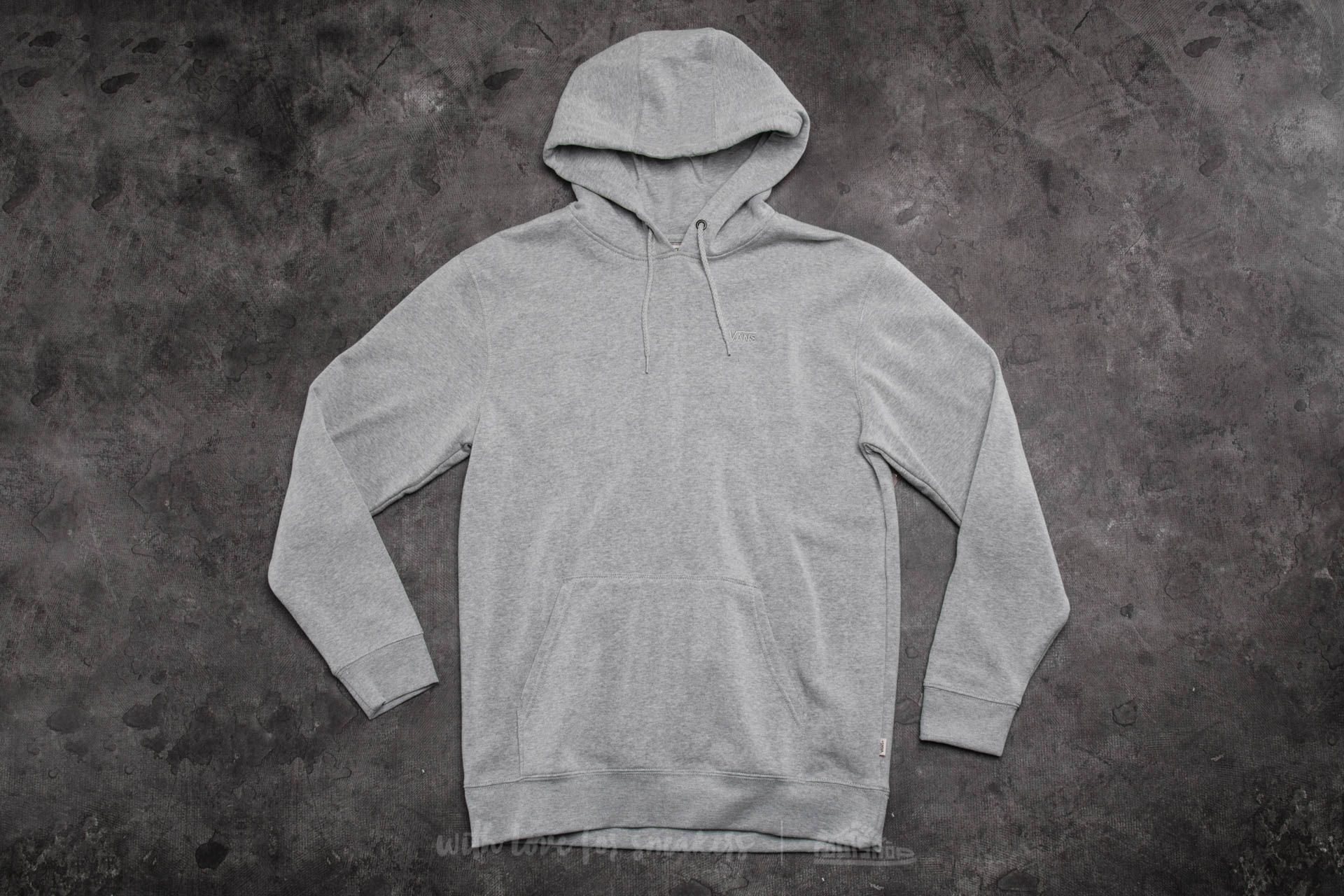 12be39db90 Vans Core Basics Pullover Hoodie Cement Heather