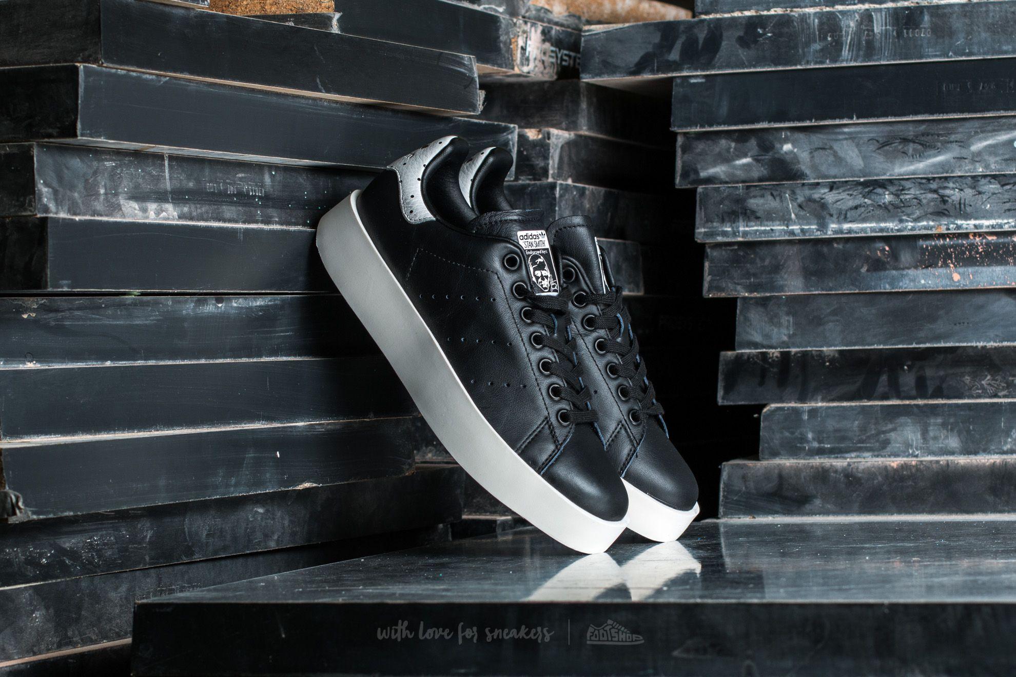 finest selection d4707 e5731 adidas Stan Smith Bold W. Core Black Core Black Ftw White