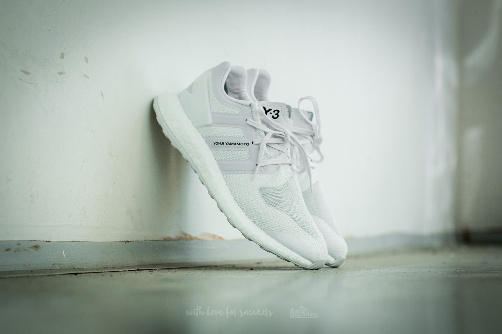 967d2426b adidas Y-3 Pure Boost Crystal White  Footwear White  Crystal White