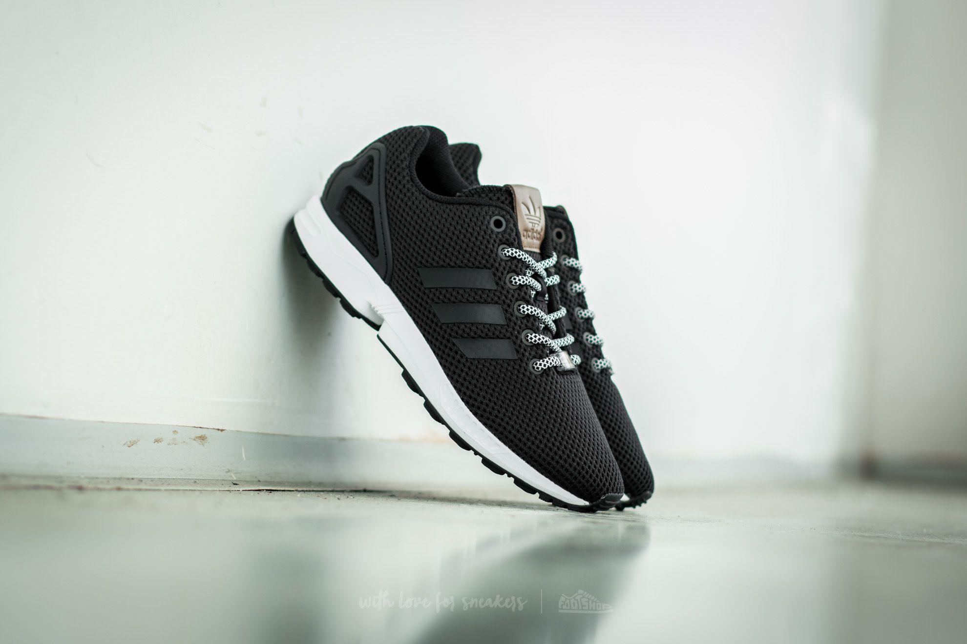 4c7300f4c0 adidas ZX Flux Core Black/ Core Black/ Footwear White | Footshop