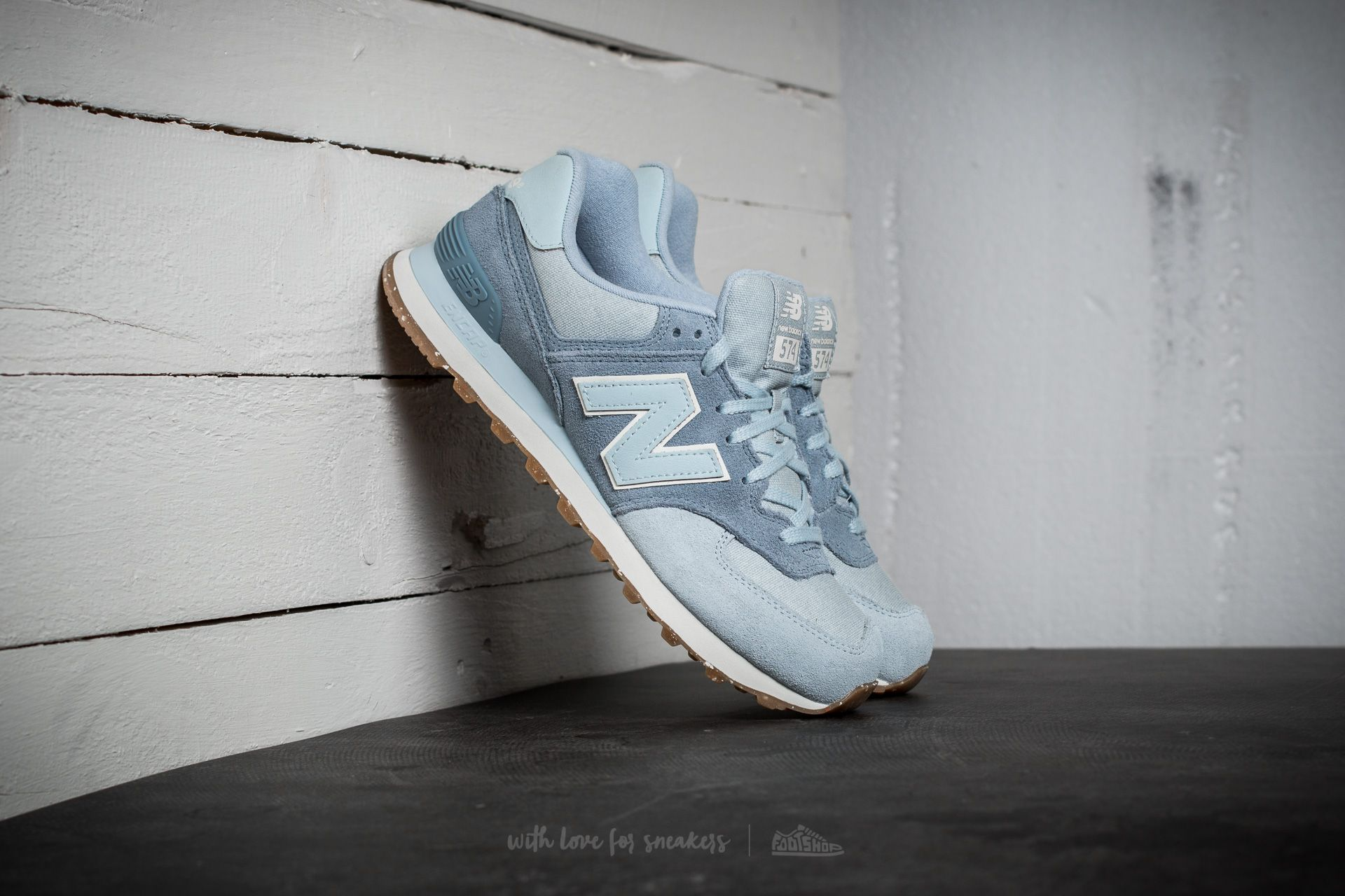 designer fashion 84d54 c93b4 New Balance 574. Sky Blue  Grey