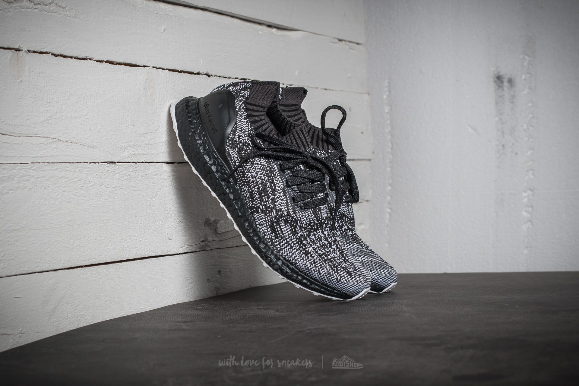 aa93a302c1b0e adidas UltraBoost Uncaged Core Black  Dark Grey-Heather Solid Grey ...